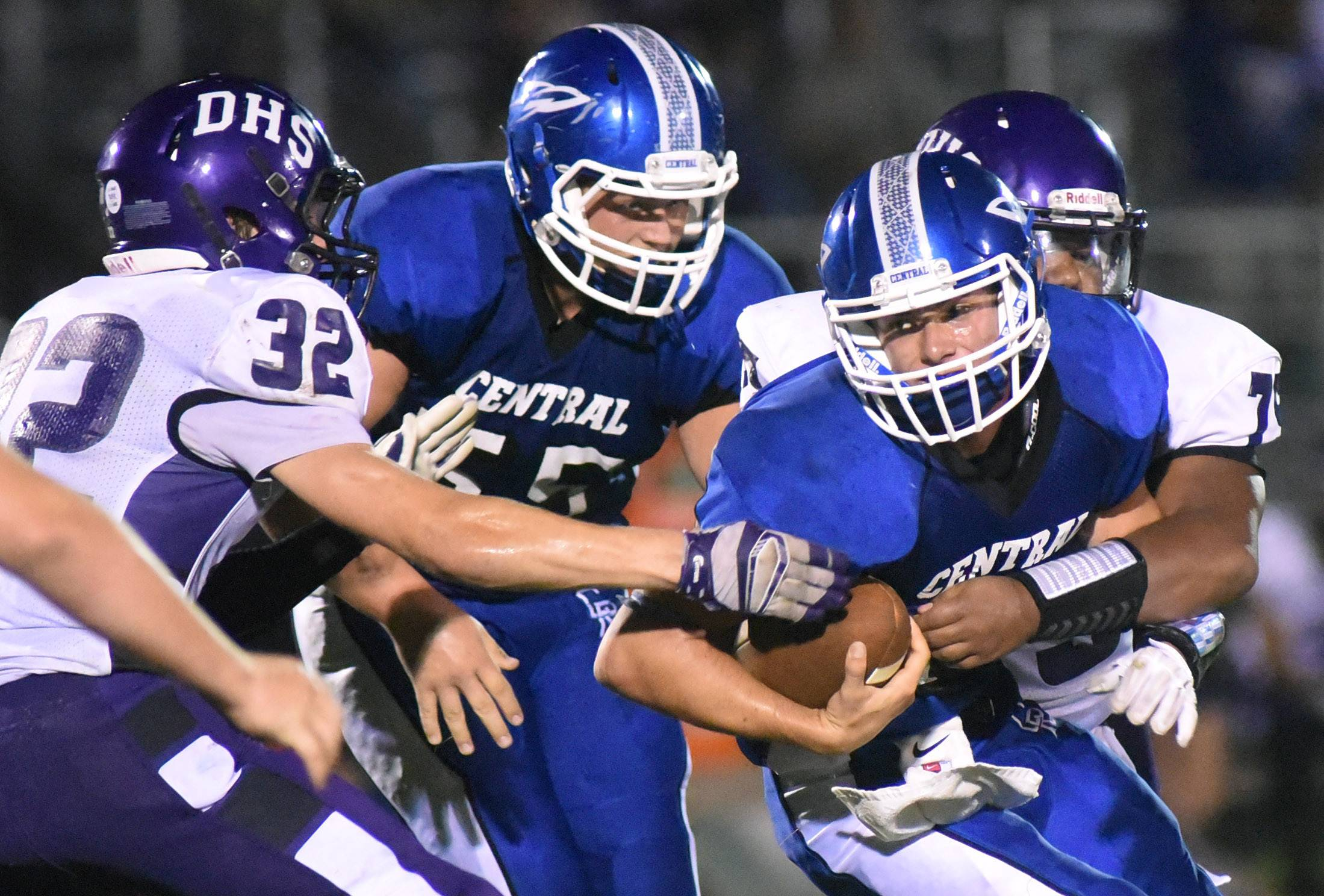 Dixon hands Burlington Central second loss