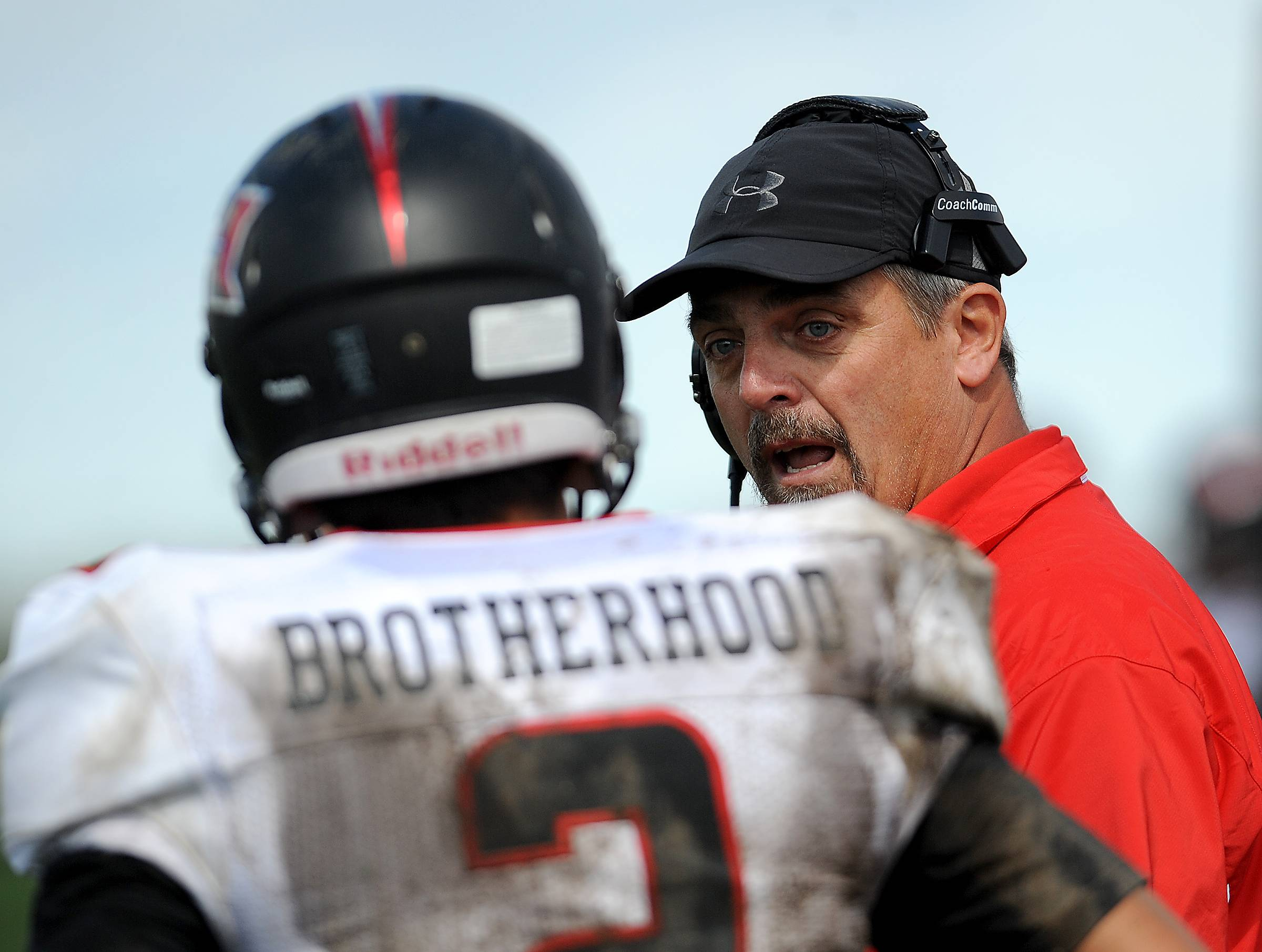 Huntley football coach John Hart has reportedly resigned after four years as the Red Raiders' head coach.t