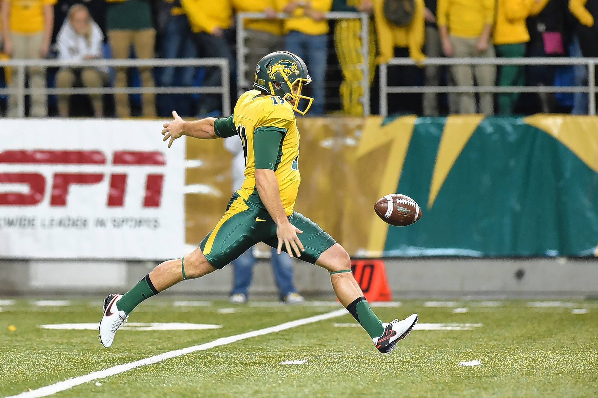 Courtesy of North Dakota StateBarrington product Ben LeCompte has developed into one of the nation's best punters at North Dakota State.