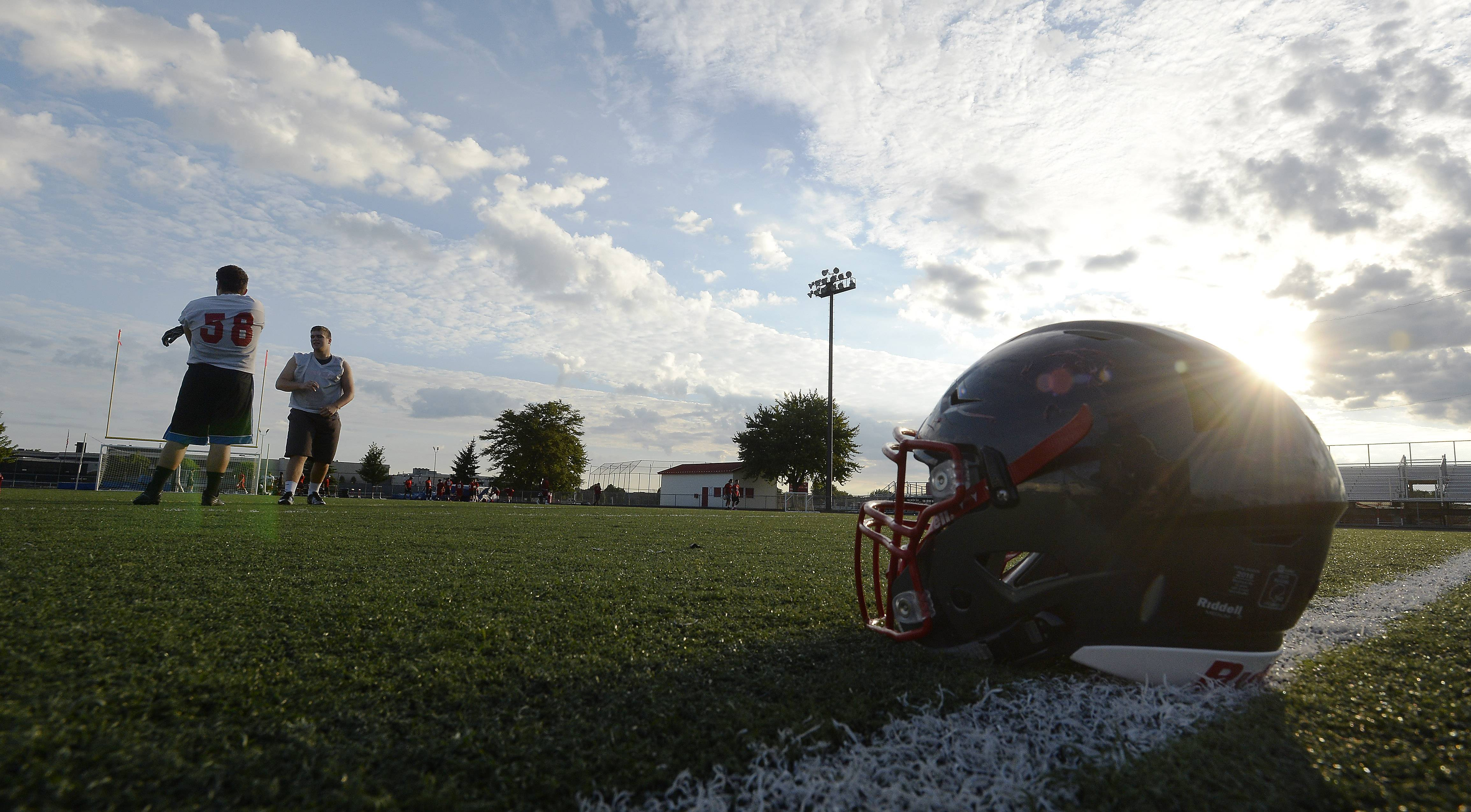 It's the dawn of a new high school football season Monday at Palatine High School.