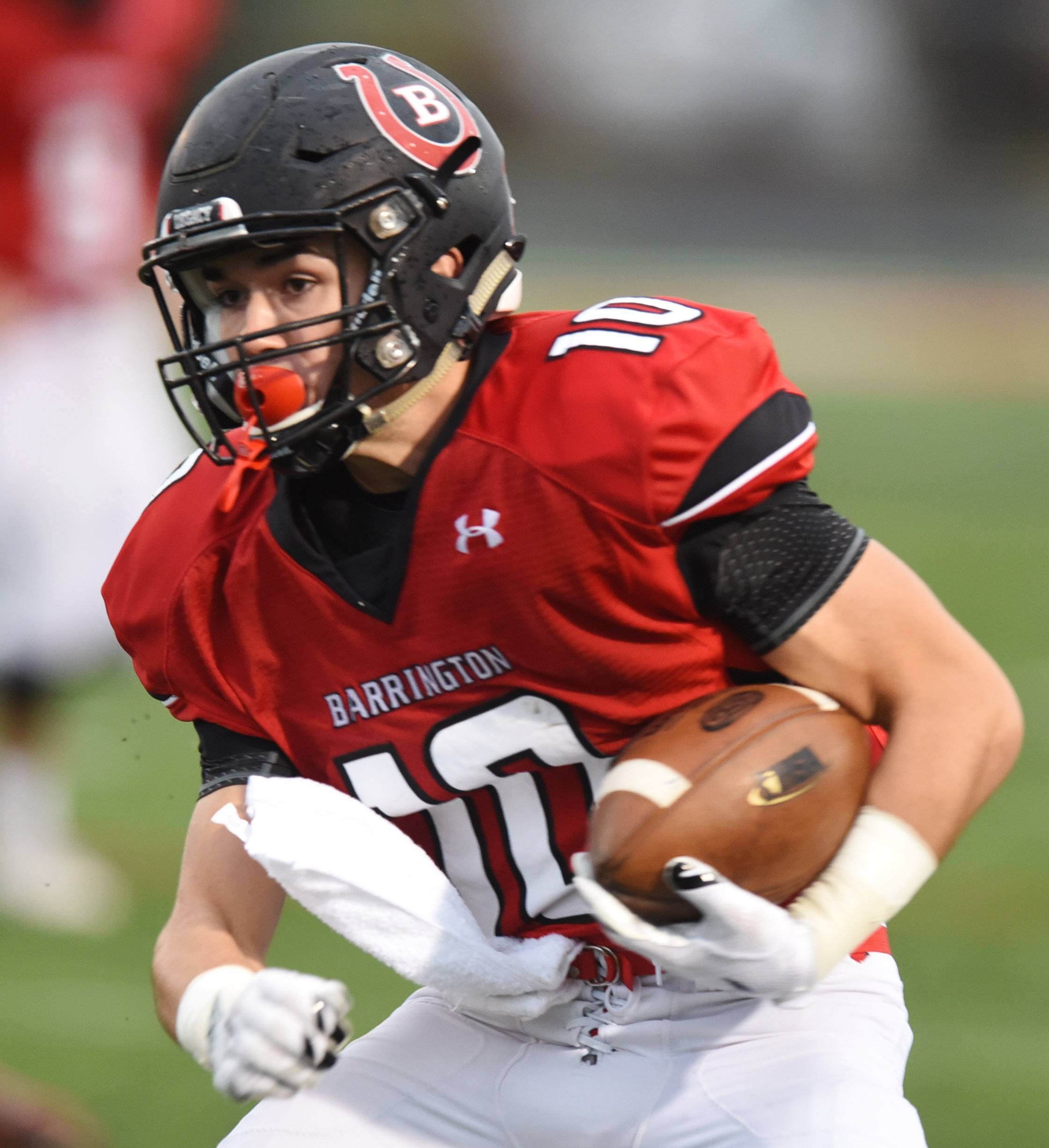 Logan Moews is among the returning players aiming to carry the load for a Barrington program with typically high hopes.