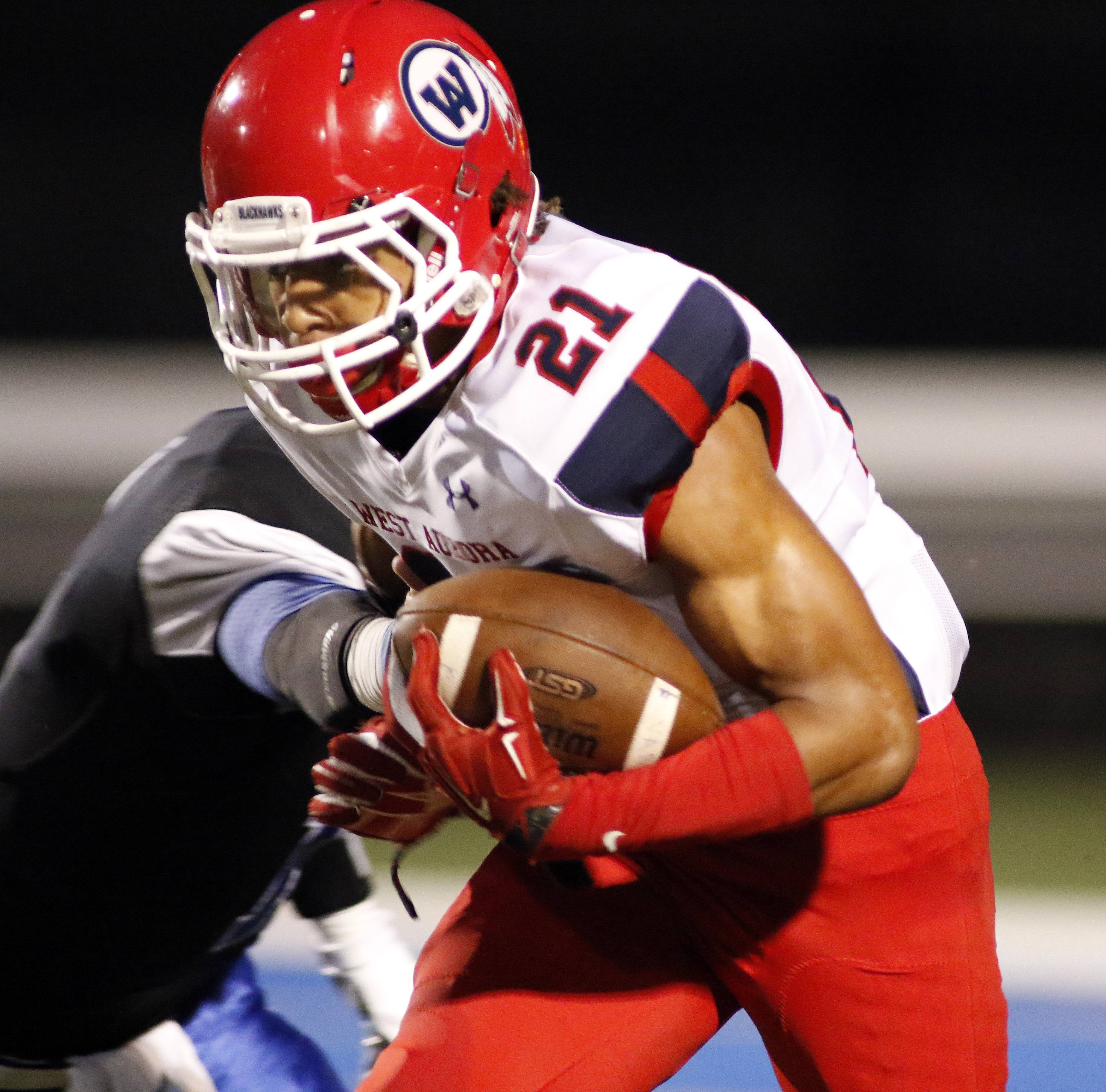 West Aurora running back DaQuan Cross returns to lead the Blackhawks this season.