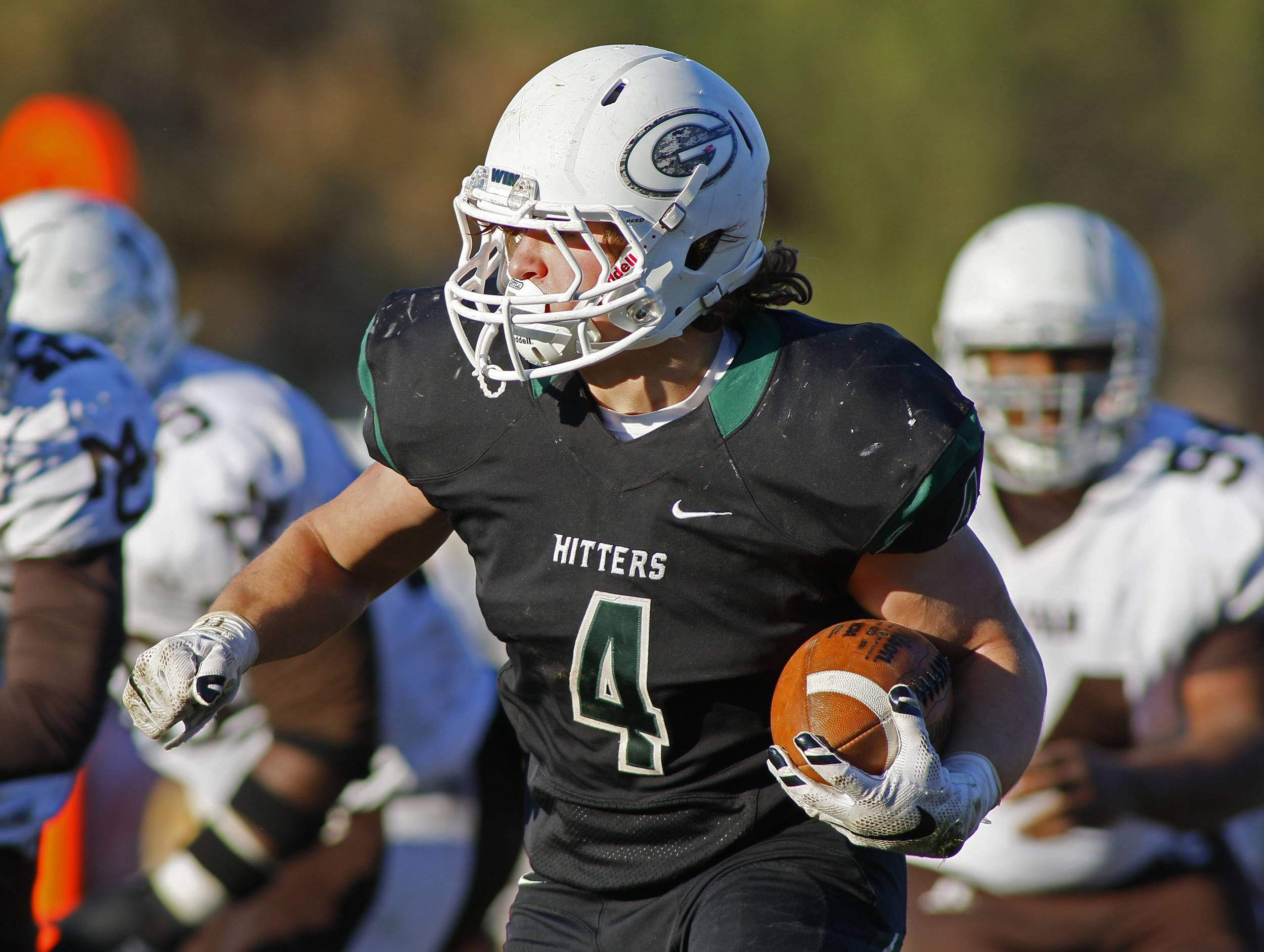 "A new national rule could force Glenbard West to remove the word ""Hitters"" from its uniforms."