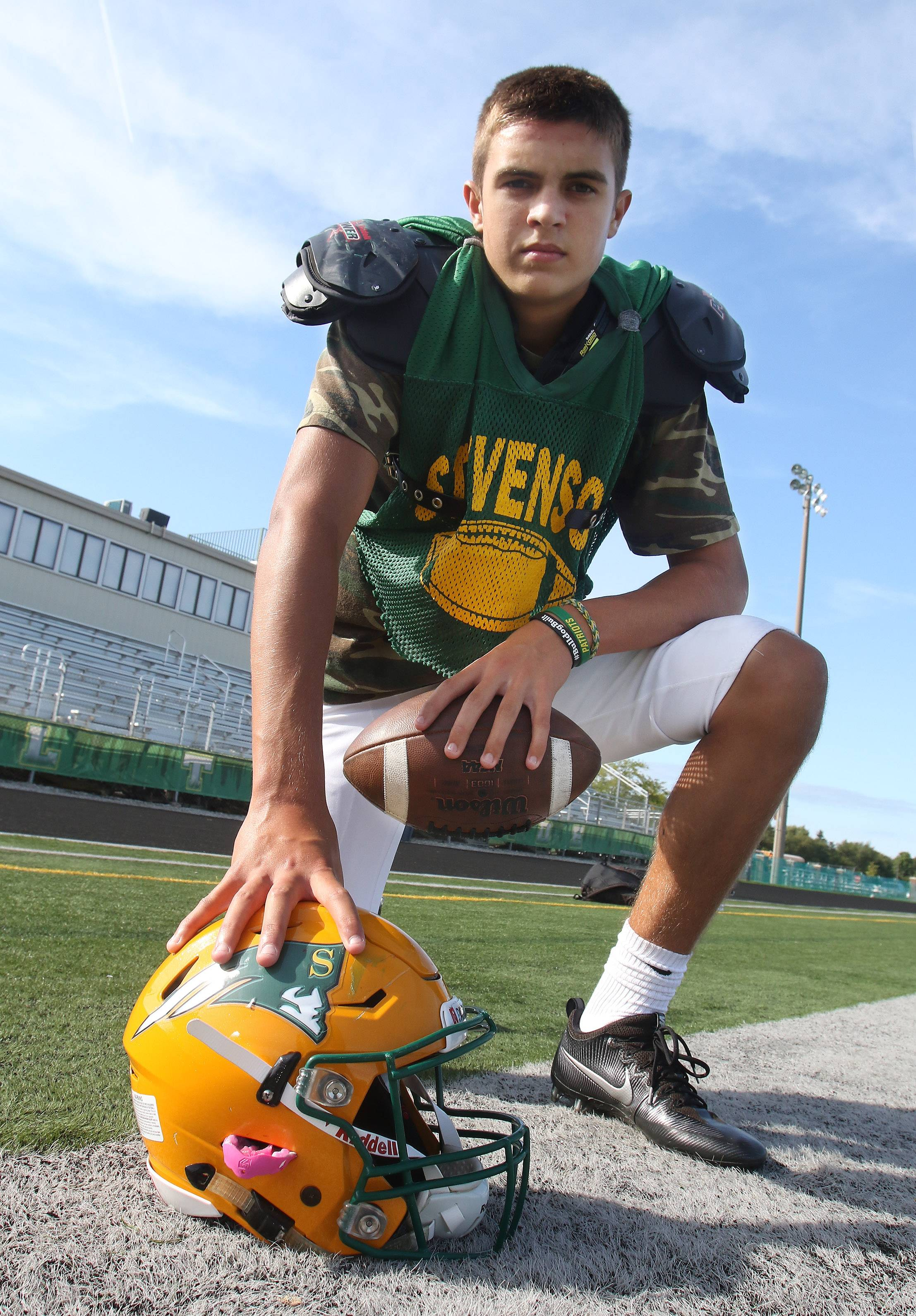 Aidan O'Connell is extending Stevenson's recent history of fine play at the quarterback position.