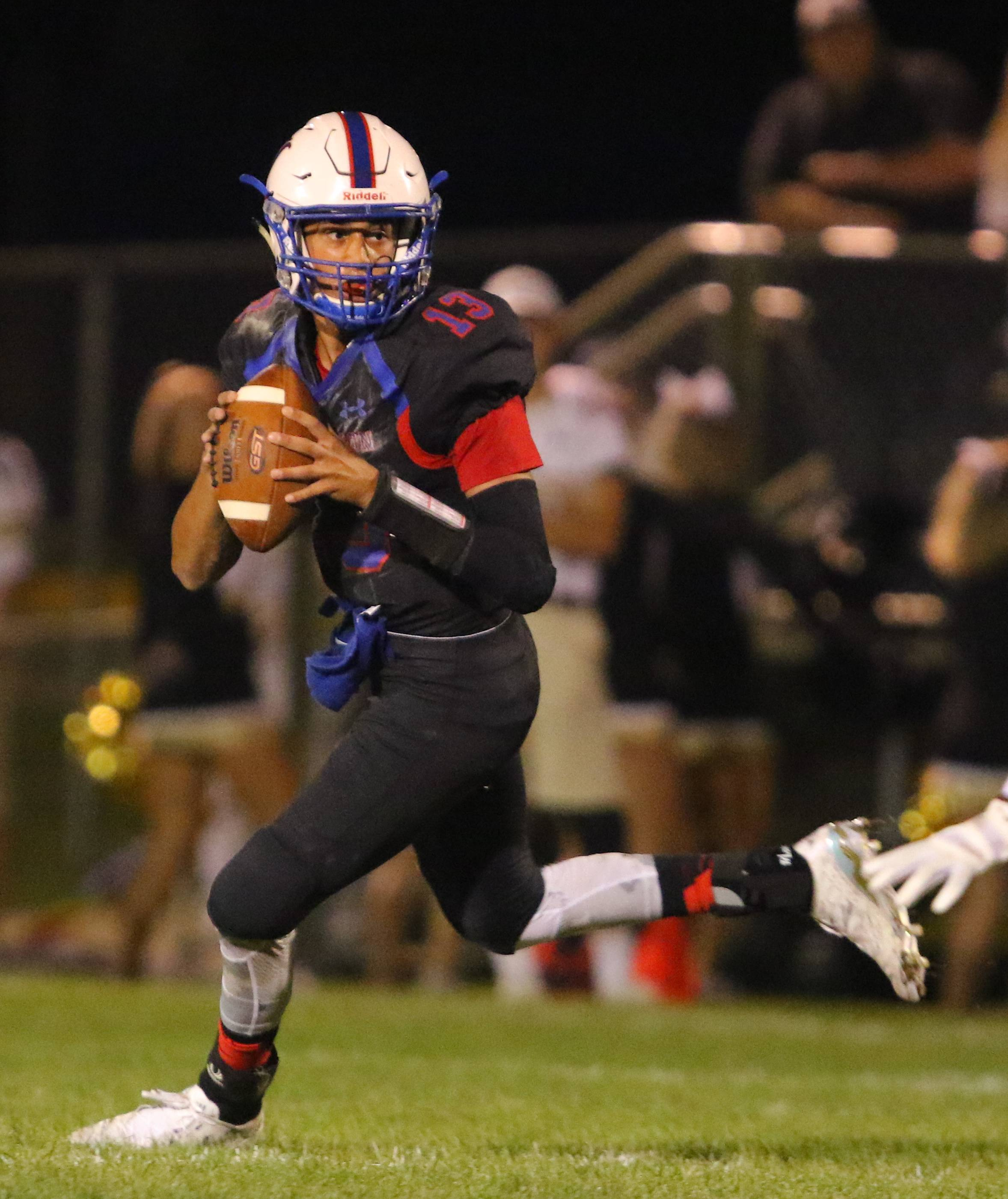 Lakes quarterback Brandon Khan and his teammates host Grayslake Central on Friday night. It will be a military appreciation event called Troop Dreams.