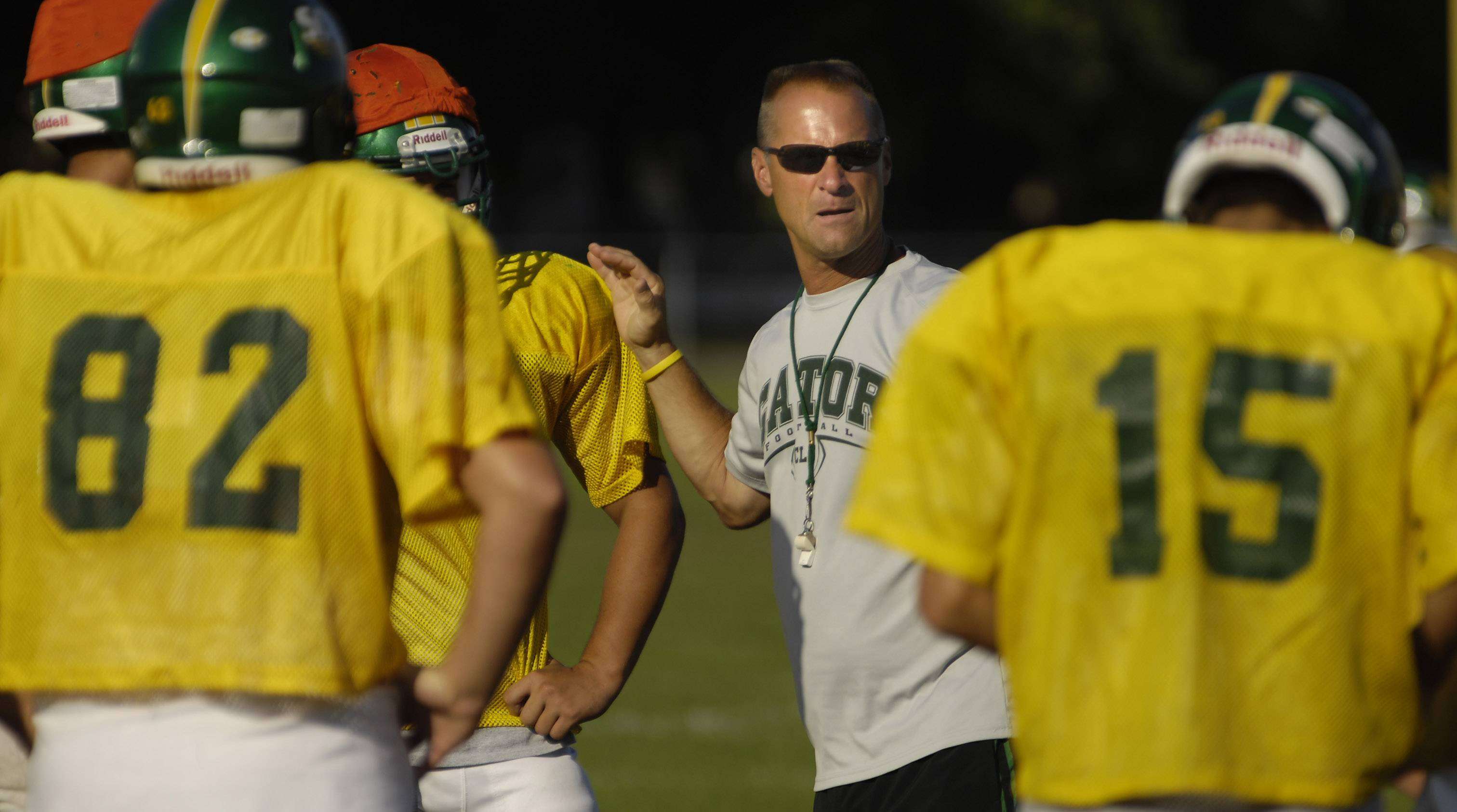 Crystal Lake South football coach Chuck Ahsmann has announced he'll step down following this Friday's season finale against West Chicago to cap a seven-year run as the program's head coach.