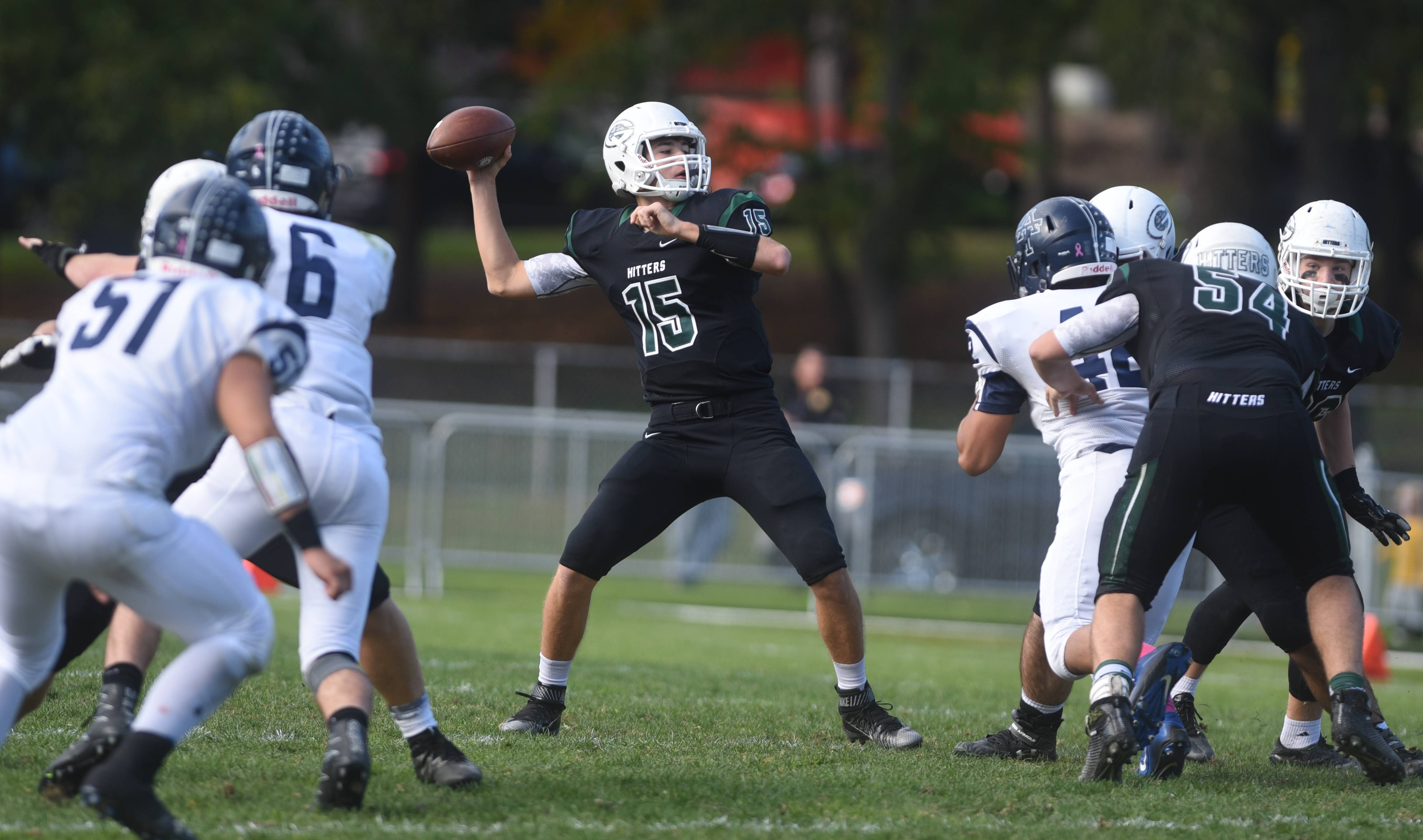 Images: Glenbard West over Addison Trail, 49-14 in football
