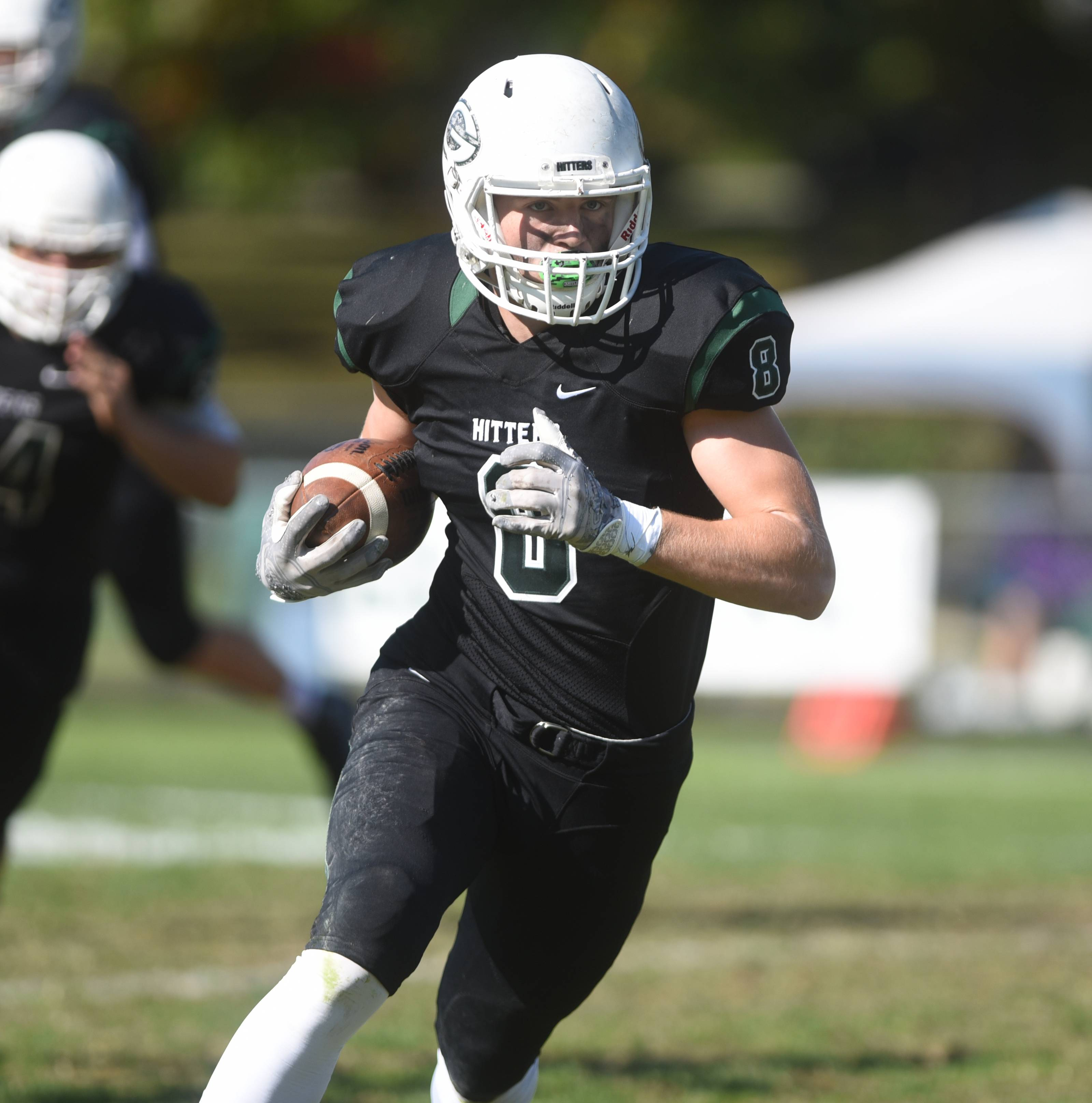 Glenbard West's Alex Pihlstrom (8) and his teammates have a very tough first-round playoff matchup at Neuqua Valley on Saturday night.
