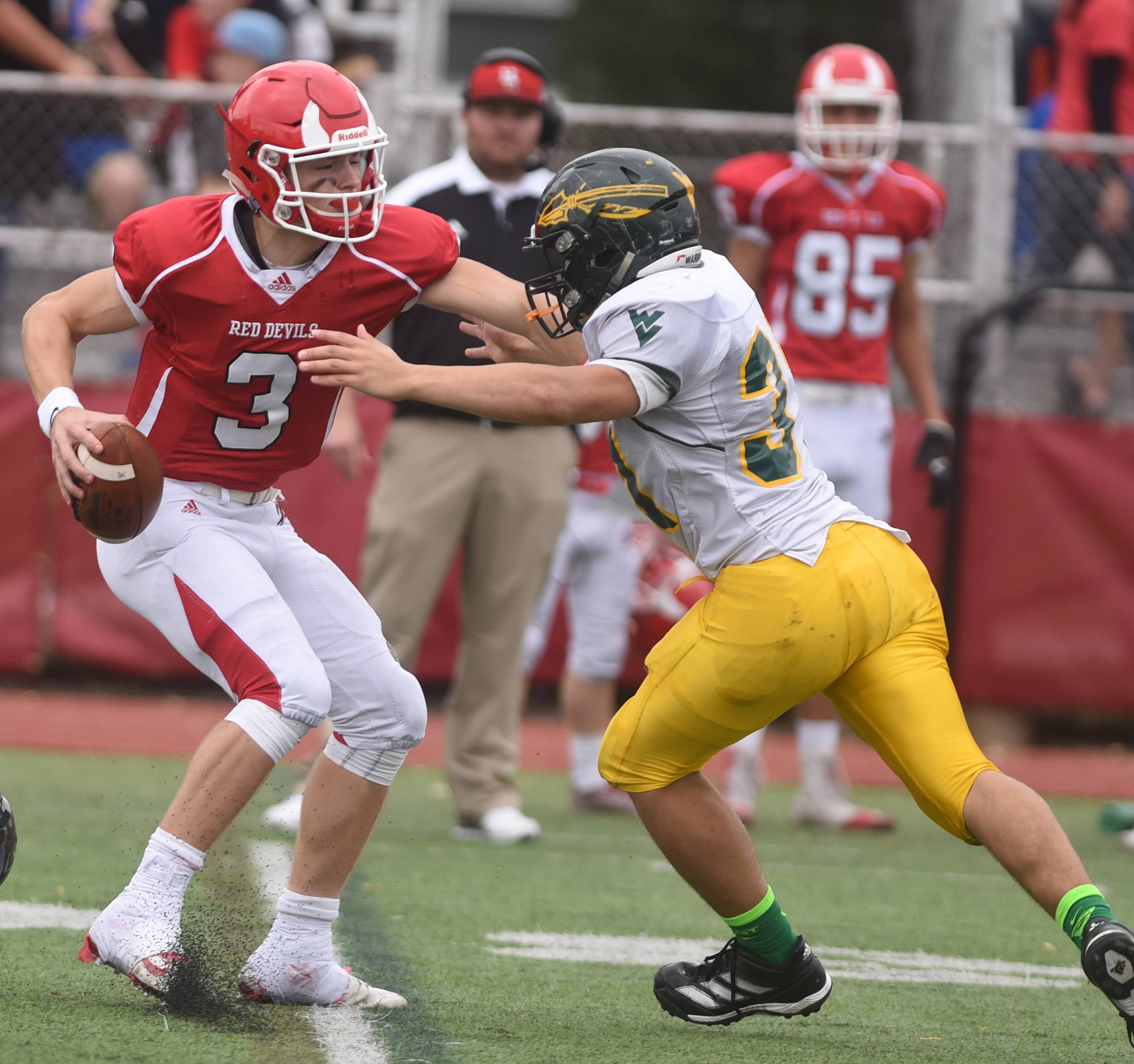Images Waubonsie Valley Vs Hinsdale Central Playoff Football