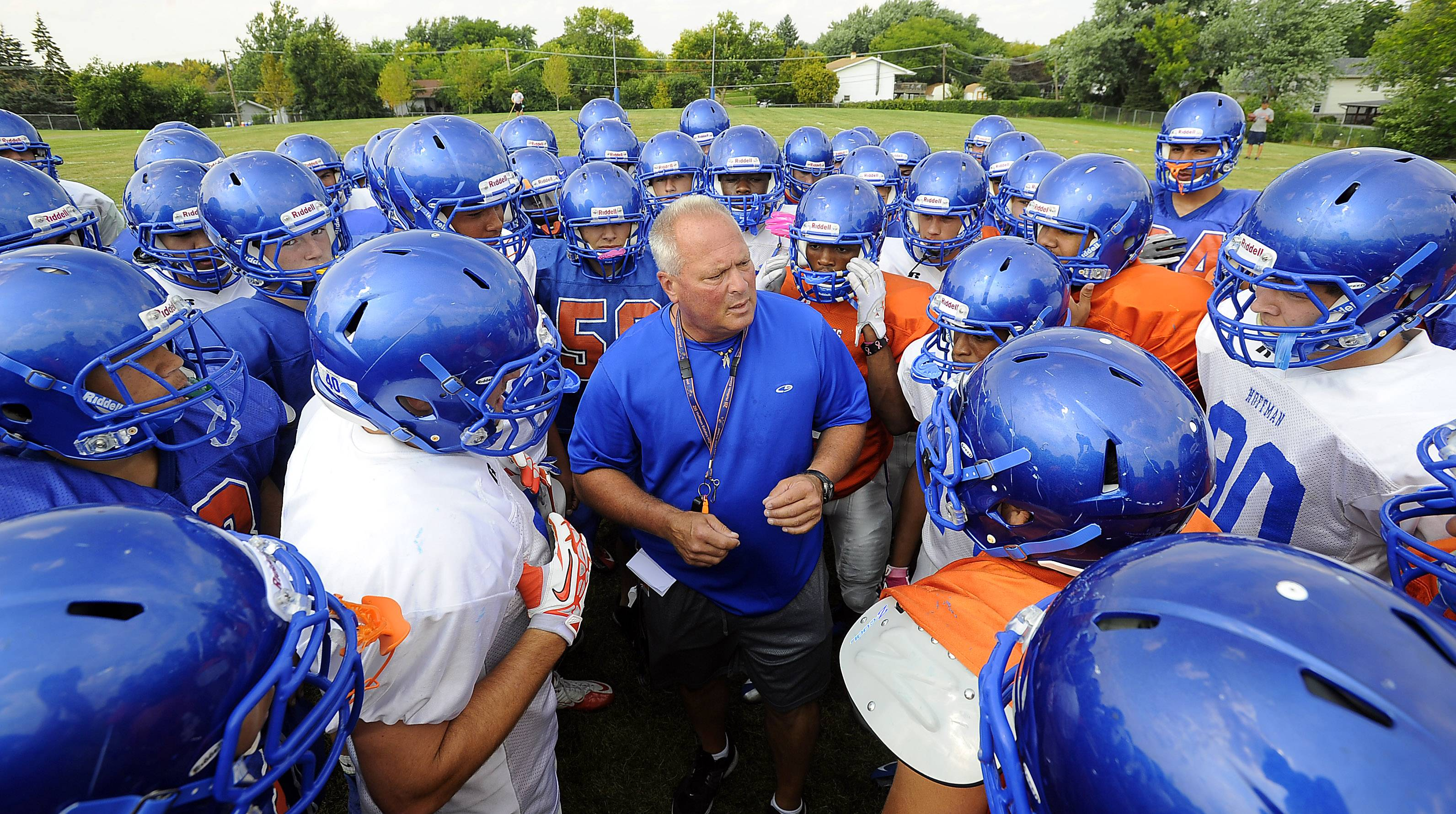 Mike Donatucci is through as Hoffman Estates' football head coach after leading the Hawks to the postseason this fall.