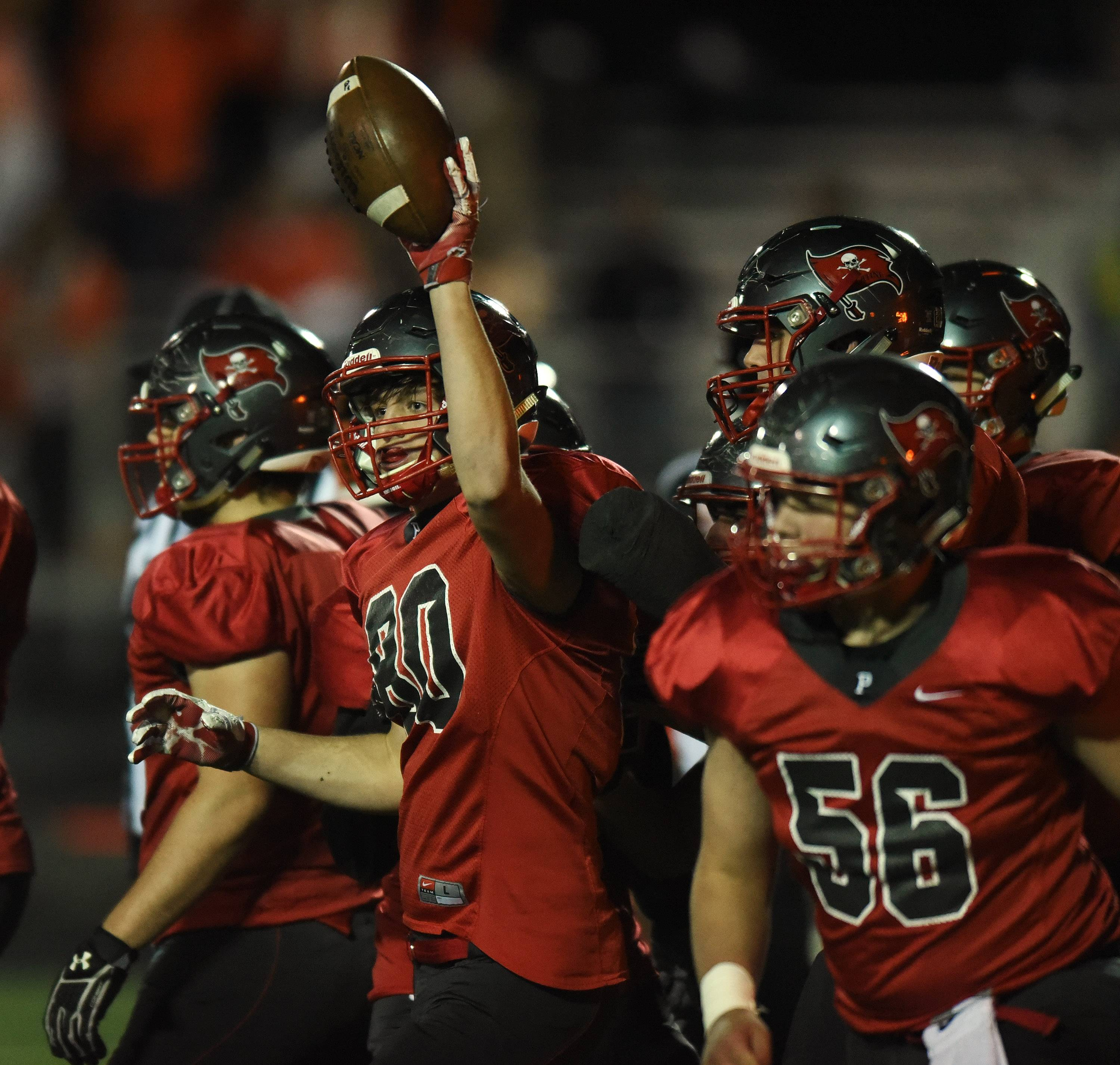 Palatine's defense punctuates quarterfinal win over St. Charles East