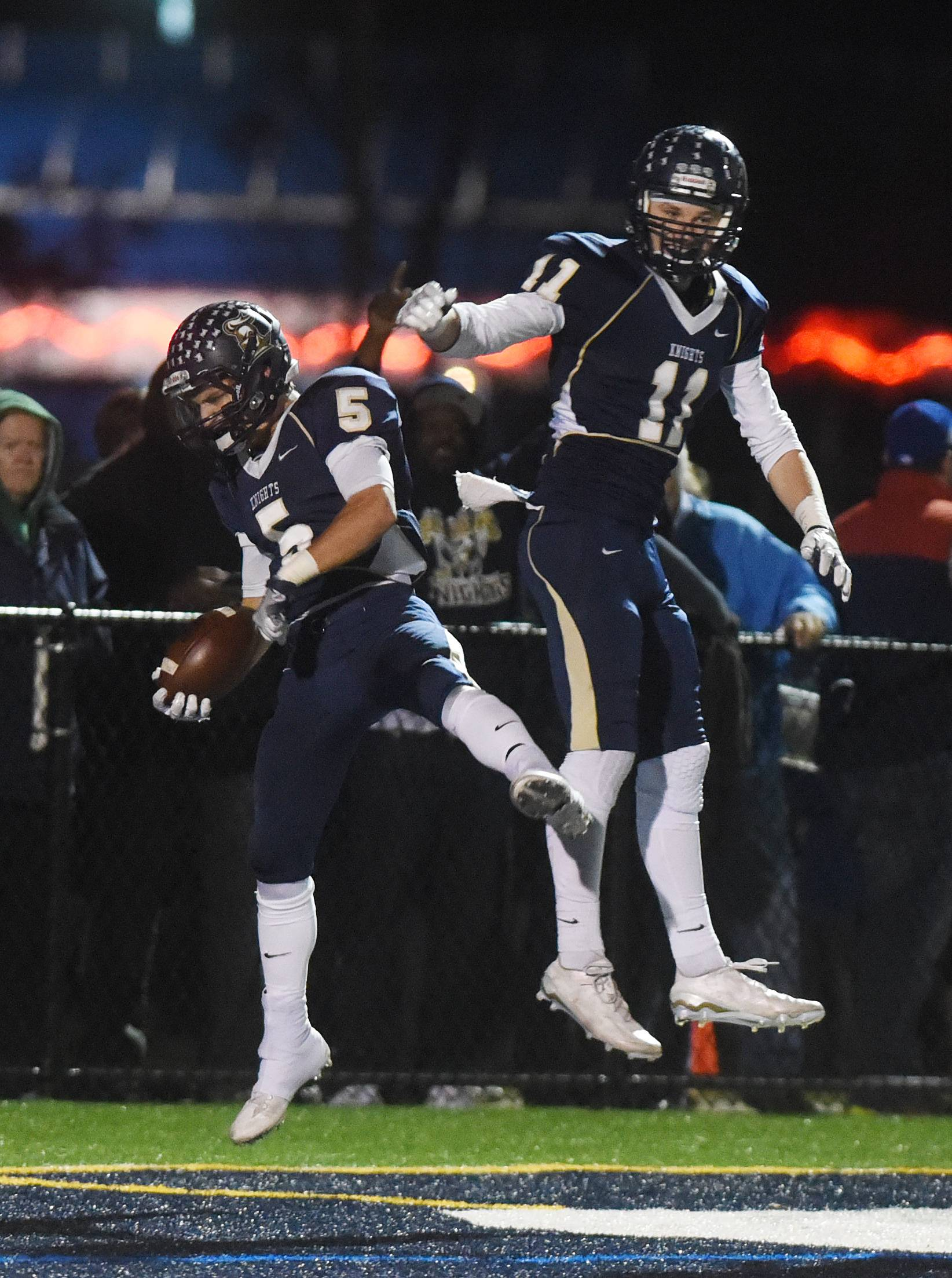 Images: IC Catholic Prep vs. Wilmington playoff football