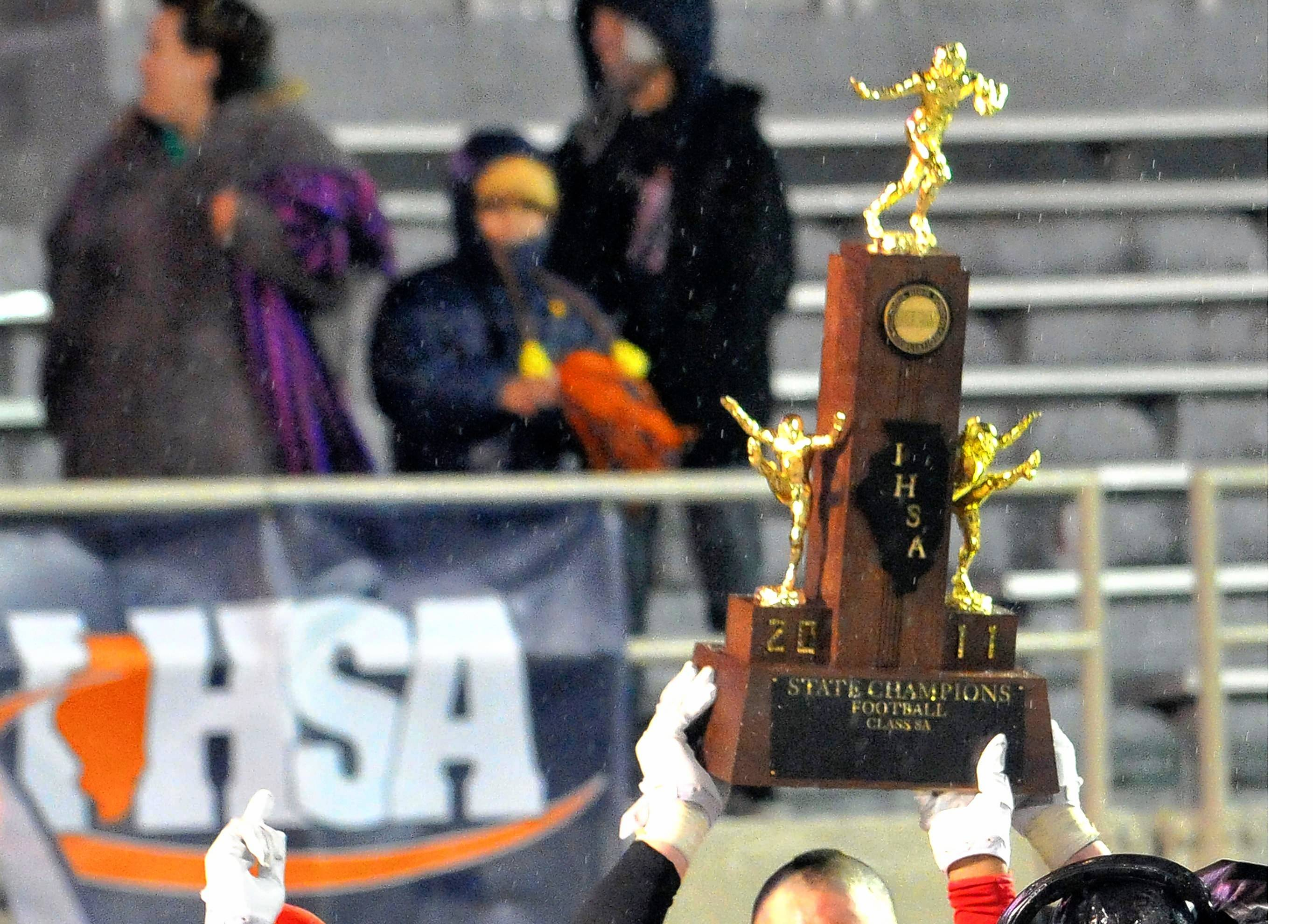 Fenwick High School's football team will not be able to compete for the Class 7A trophy this weekend. A Cook County judge rejected Fenwick's appeal over last week's game, and now Plainfield North will play East St. Louis for the IHSA Class 7A championship.
