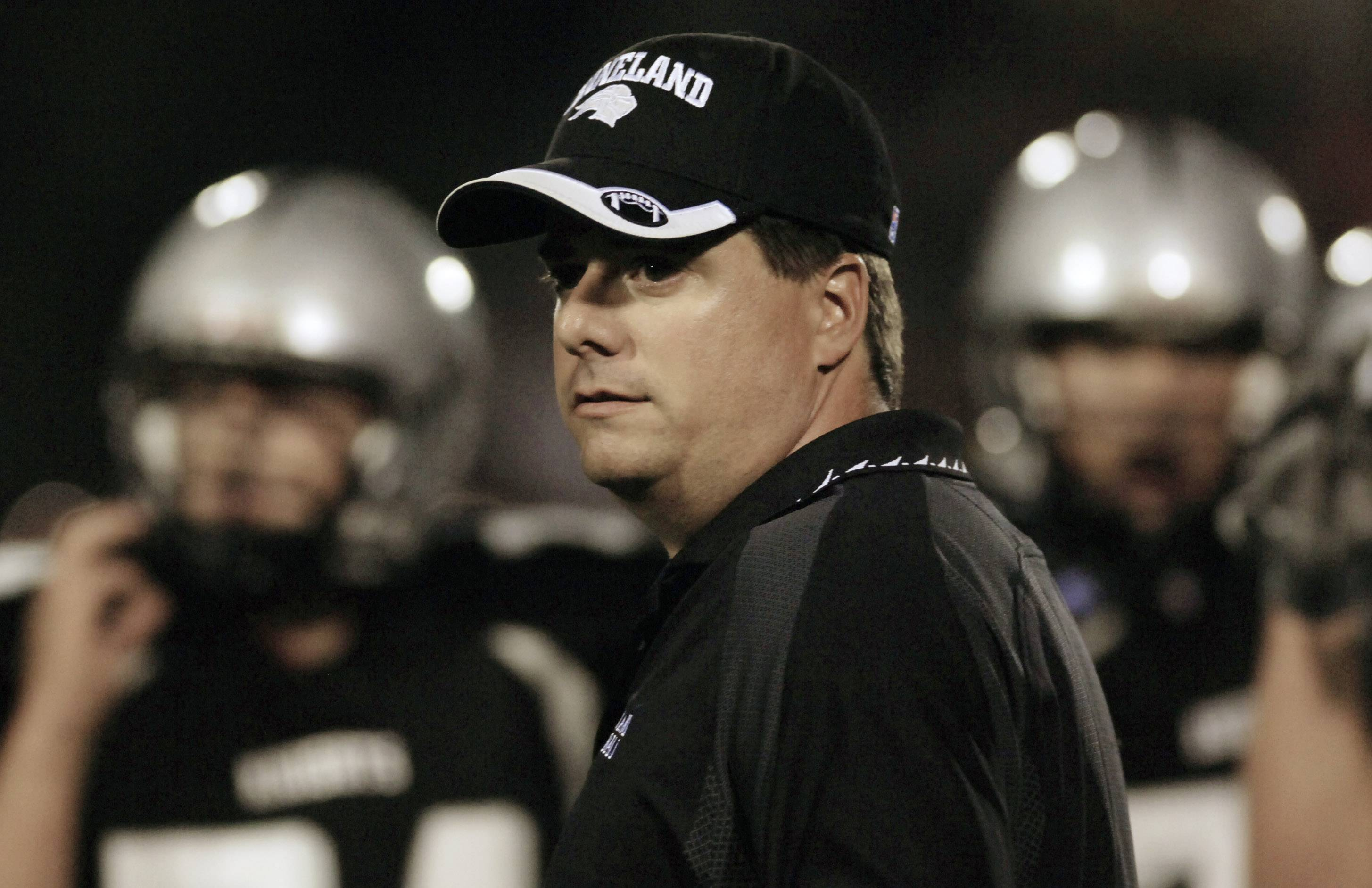 Tom Fedderly went 73-33 in his 10 years coaching Kaneland.