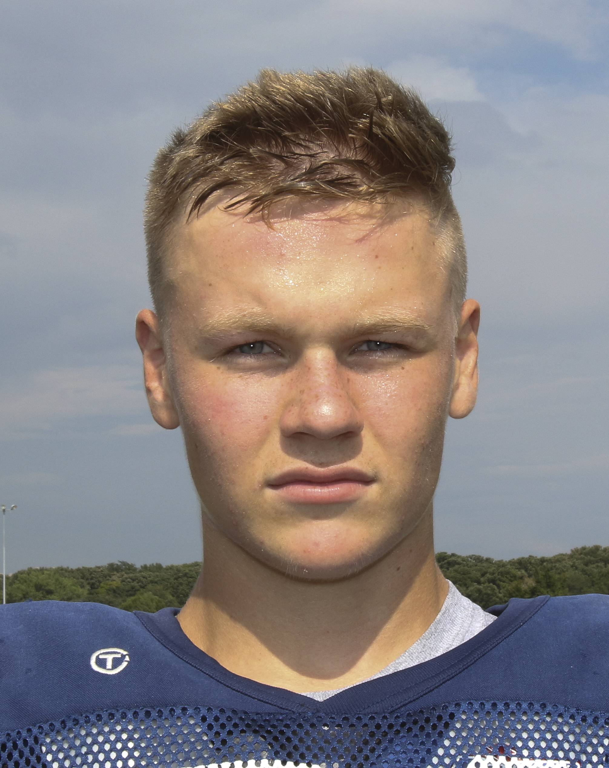 Mark McGrath of Lisle football.