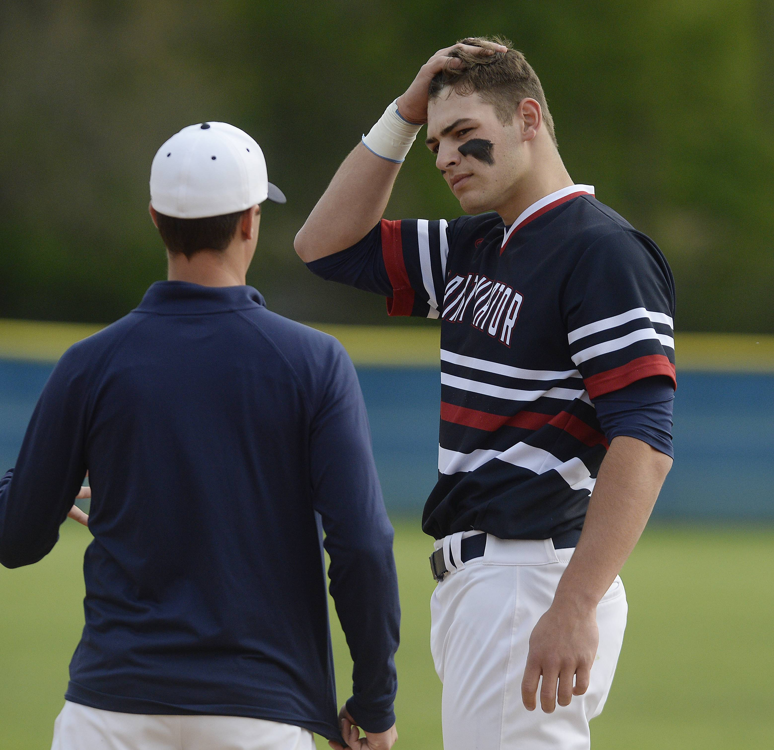 Two-sport standout Kmet makes his mark in baseball