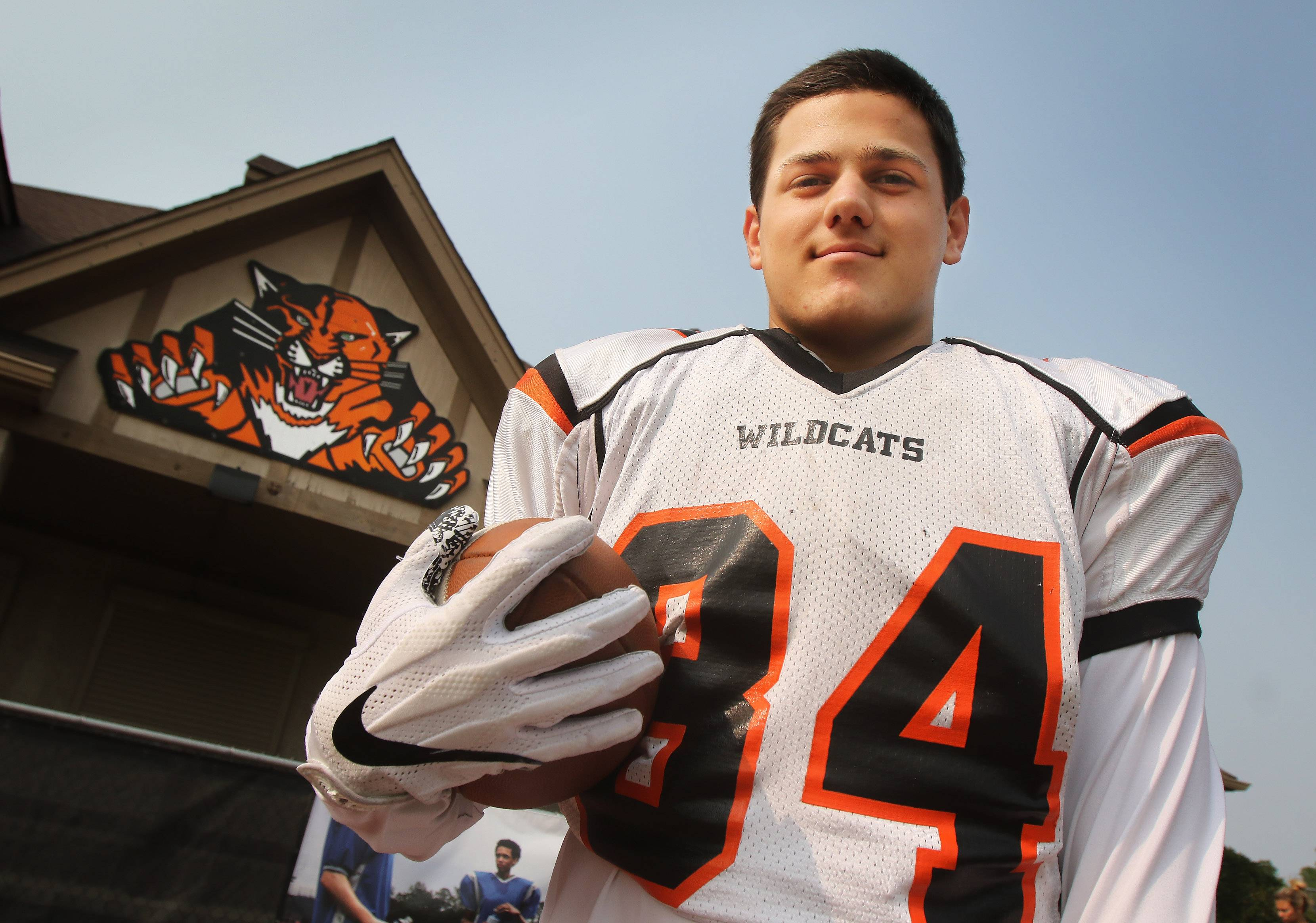 Libertyville running back Brendan Bazar has made the transition from freshman B-teamer to varsity standout.