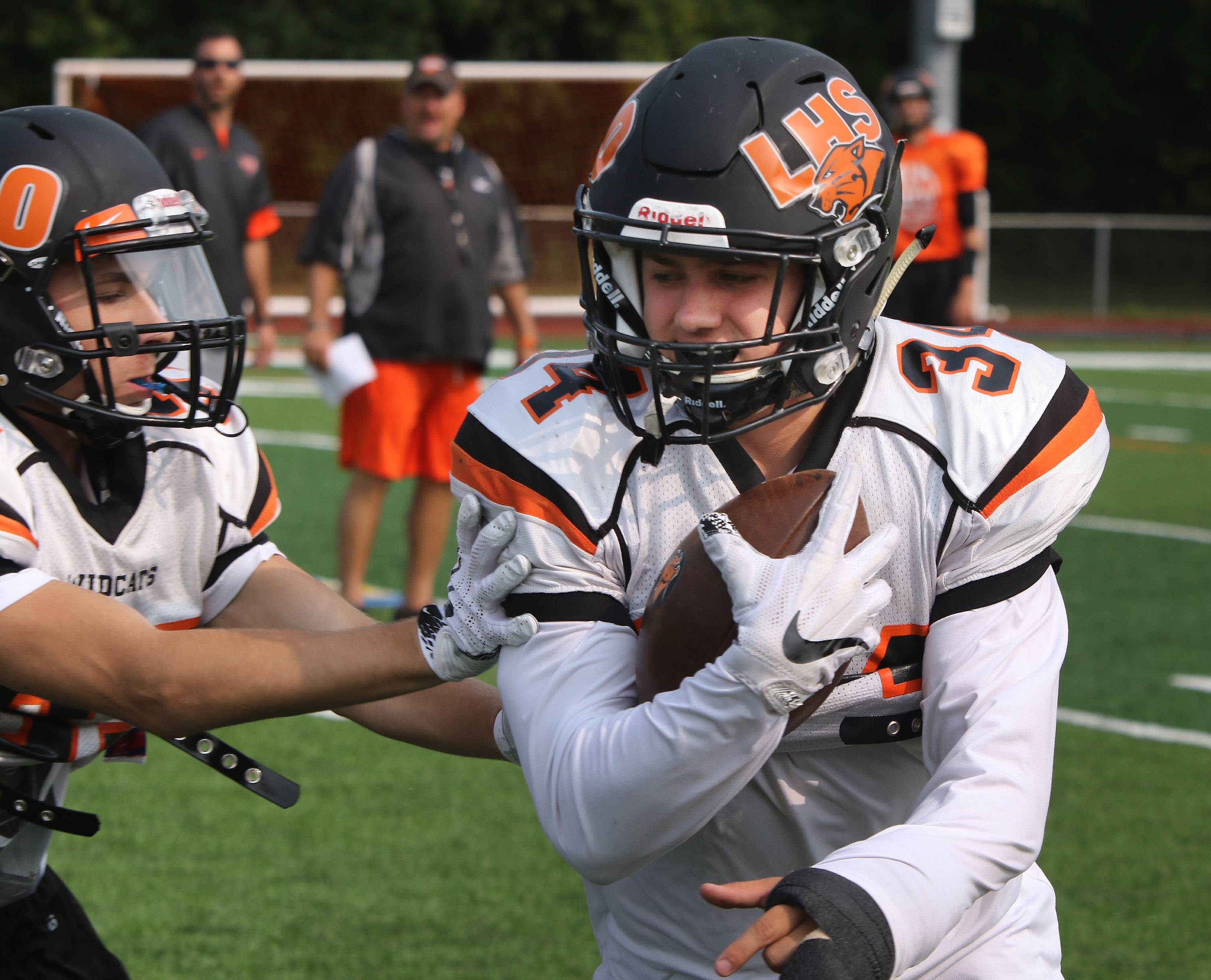 Libertyville running back Brendan Bazar is an undersized player who has put up big rushing yards the last two years.