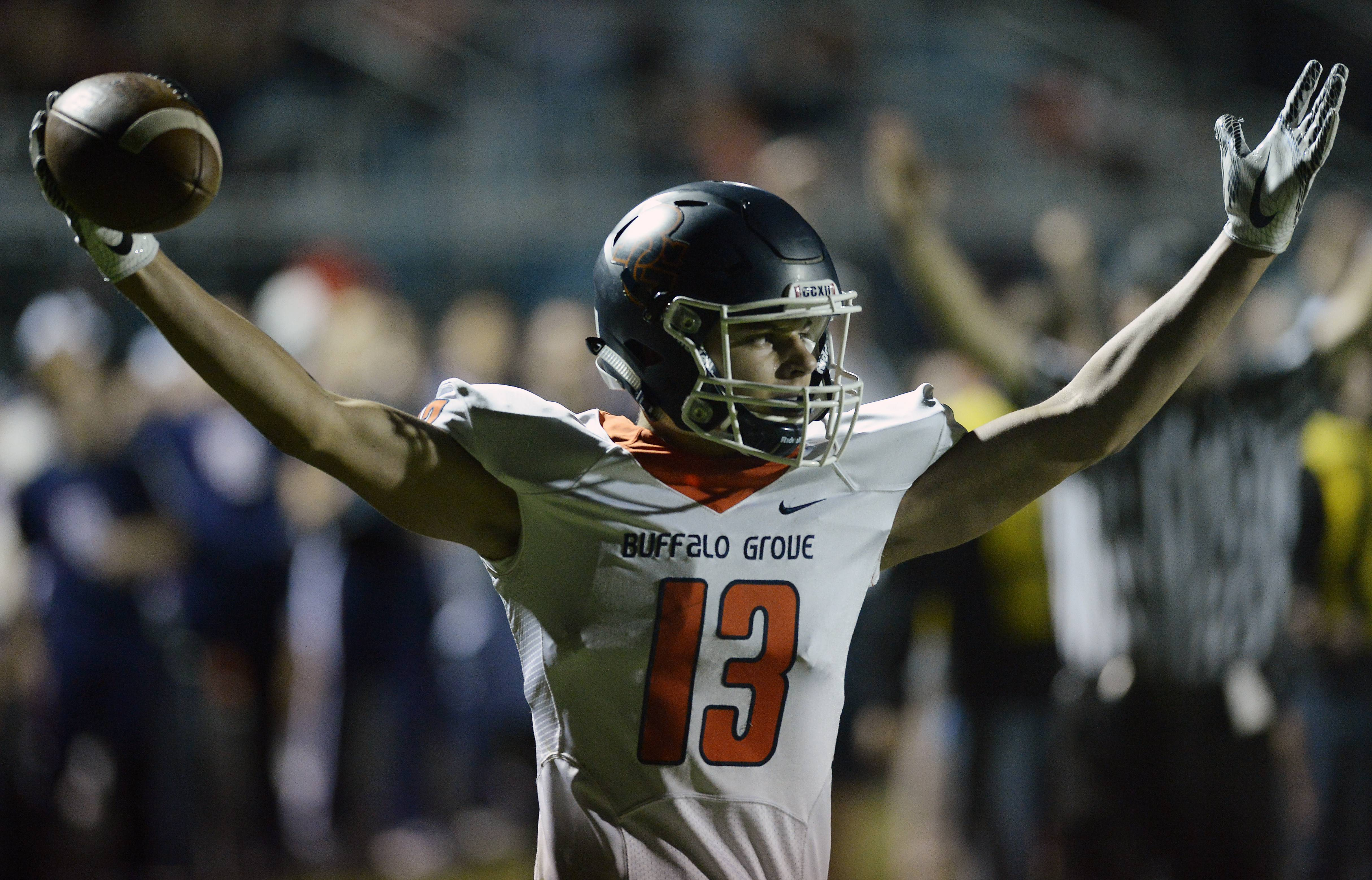 Images: Buffalo Grove over Maine West, 30-7 in football