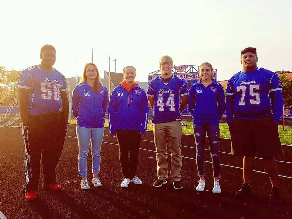 "From left, Hoffman Estates athletes helping bring a focus to families affected by military service in ""Hawks for Vets"" events this weekend include Brandon Sheppard, Renata Widelak, Ali Bajor, Jimmy Burkes, Benita Varanauskaite and Angel Fernandez."