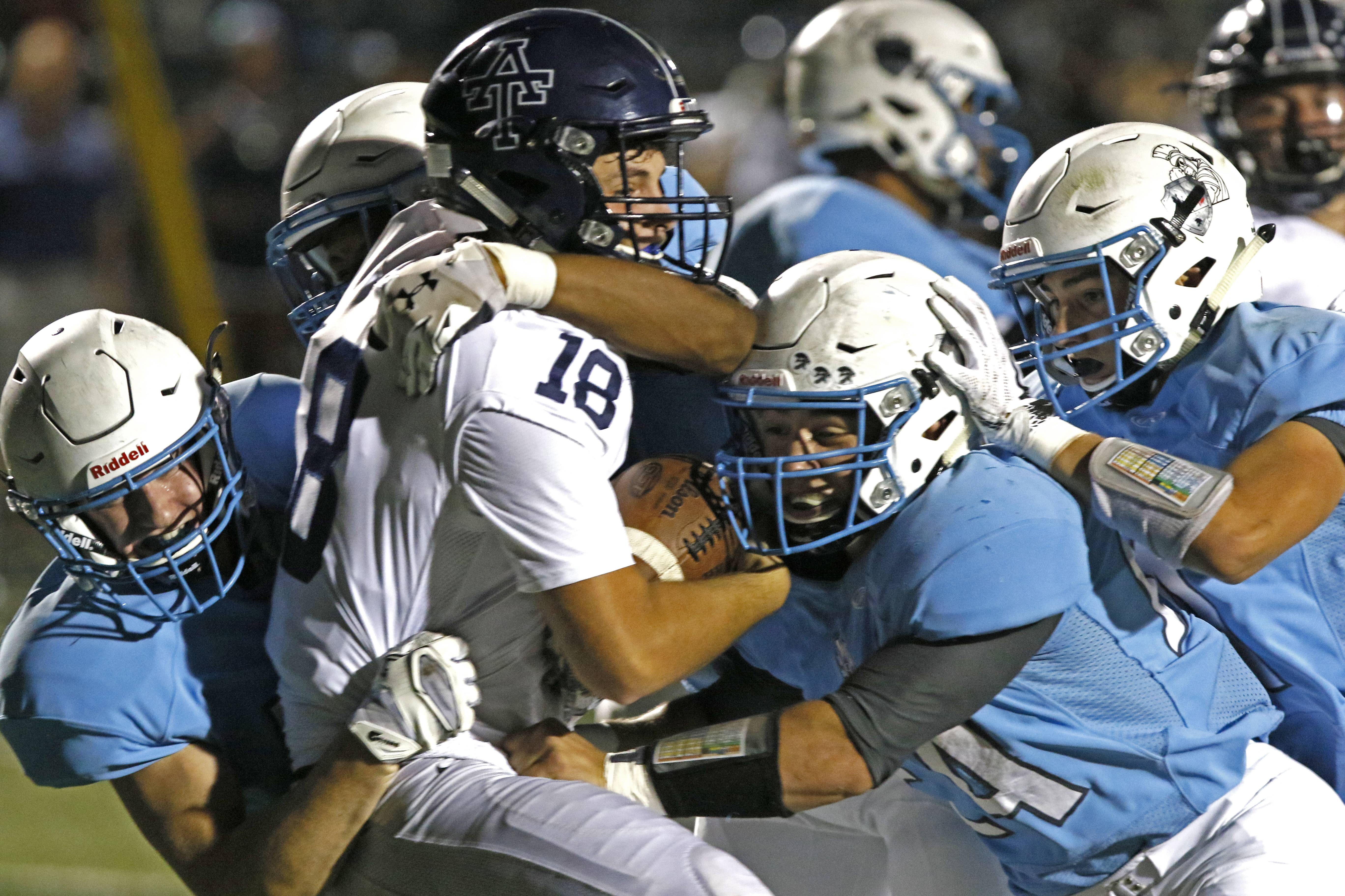 Willowbrook leaves no doubt against Addison Trail