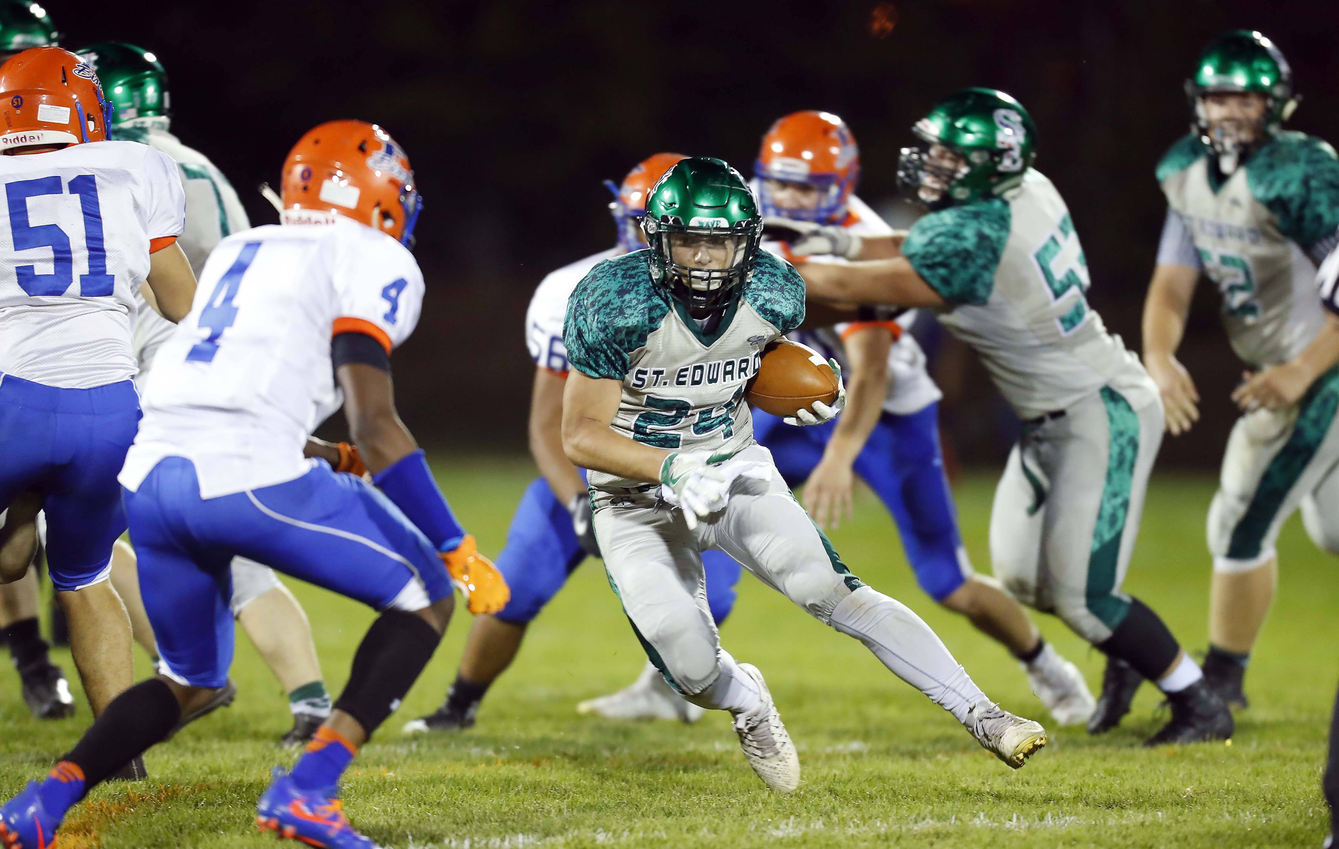 Images: St. Edward vs. Fenton football