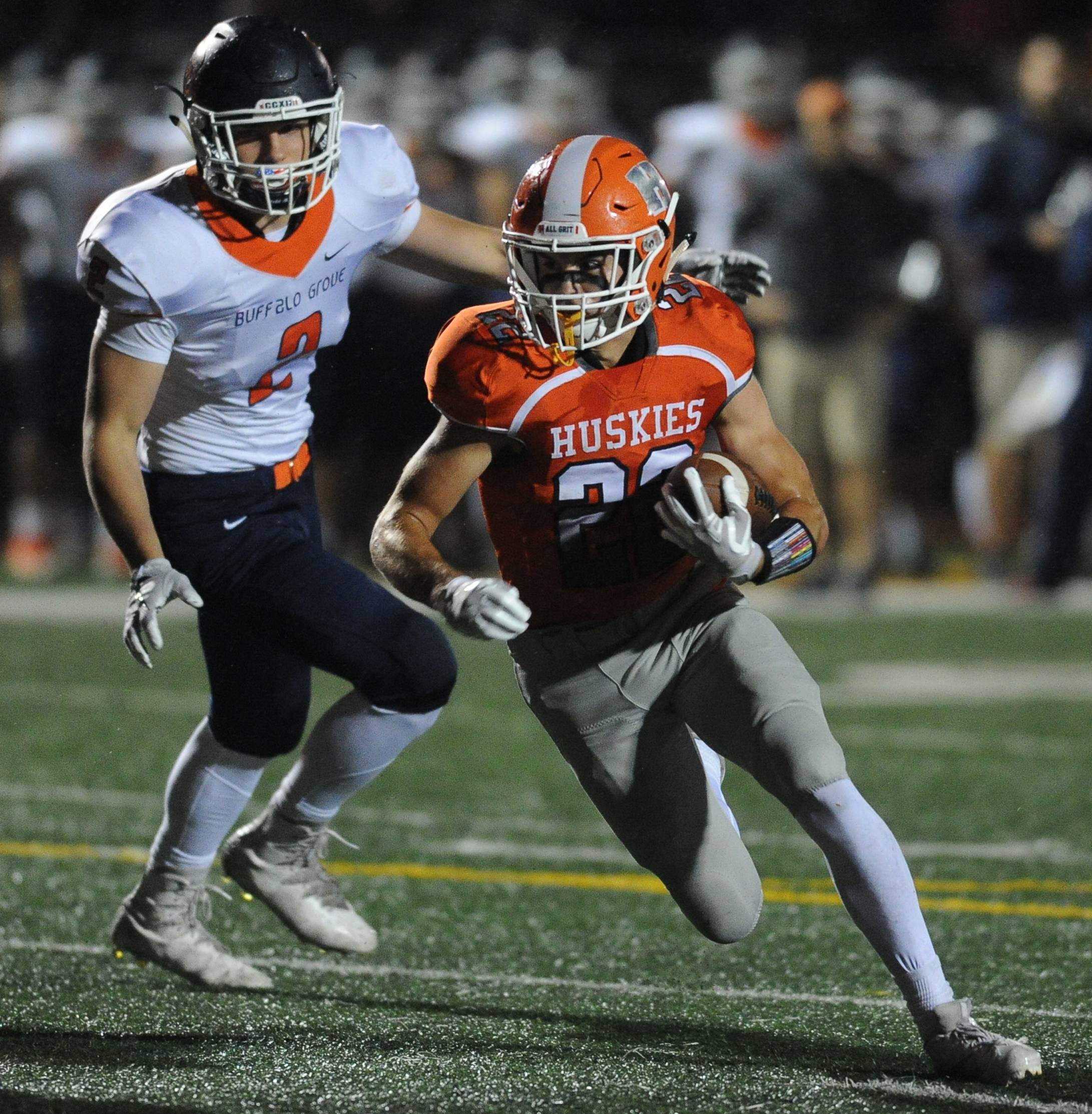 Photos from the Buffalo Grove vs. Hersey football game on Friday, Oct. 6, in Arlington Heights.