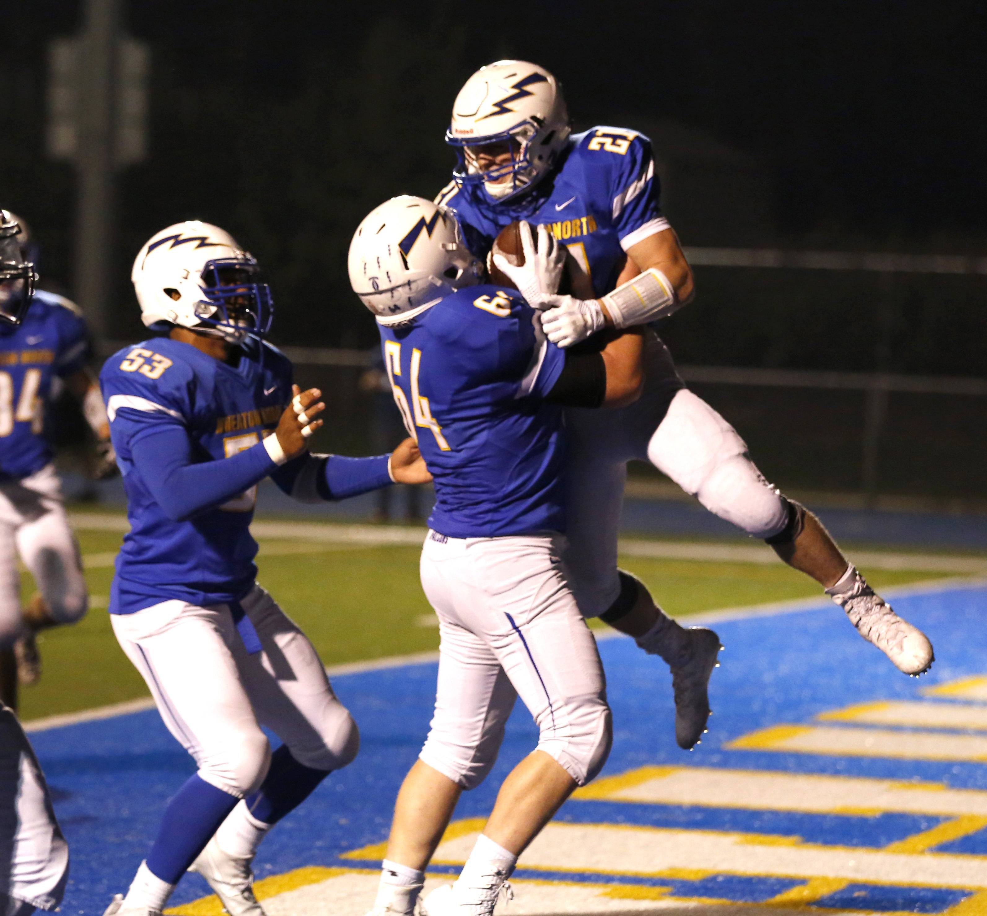Images: Wheaton North vs. Waubonsie Valley football