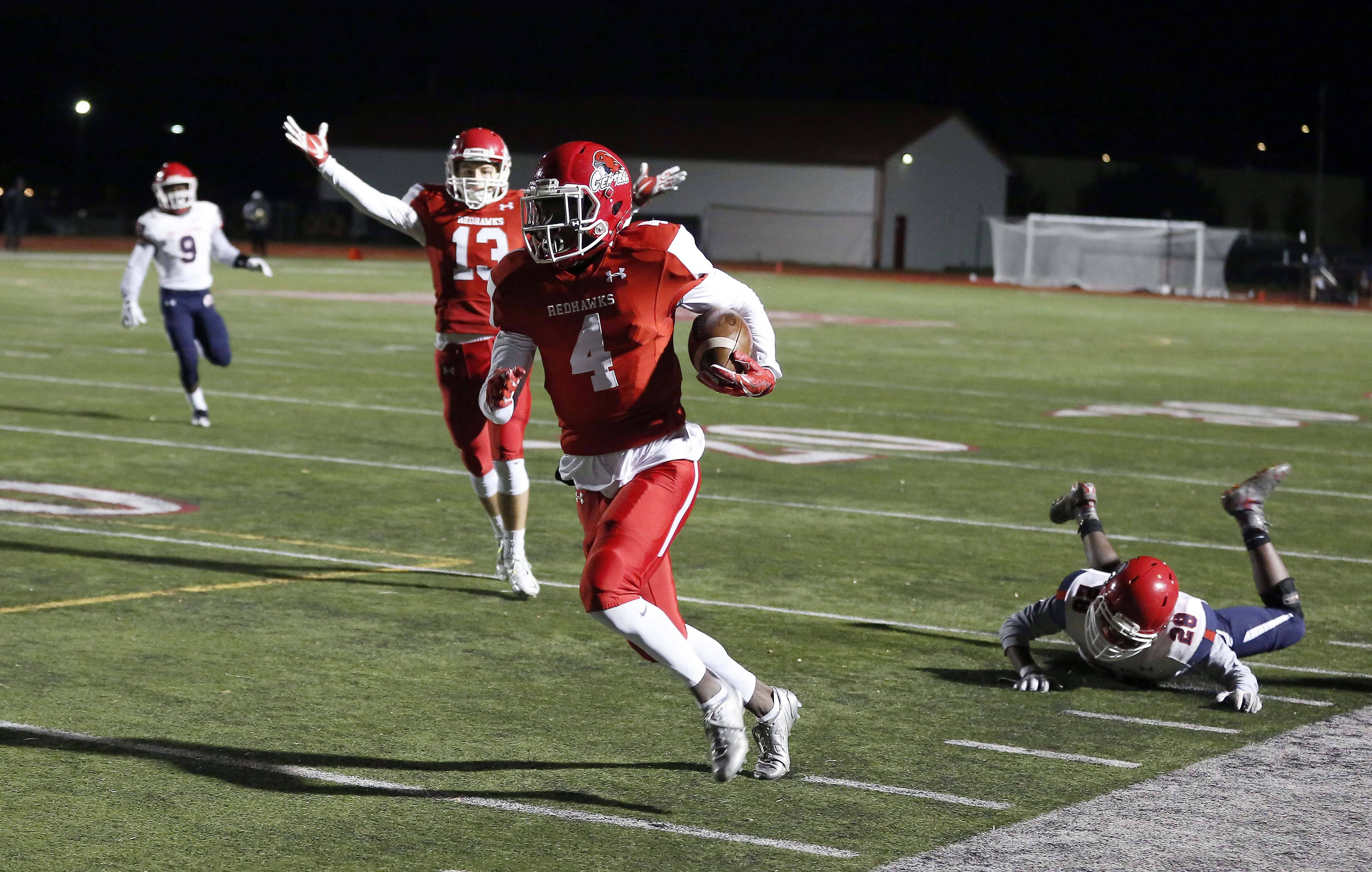 Naperville Central moves forth against West Aurora