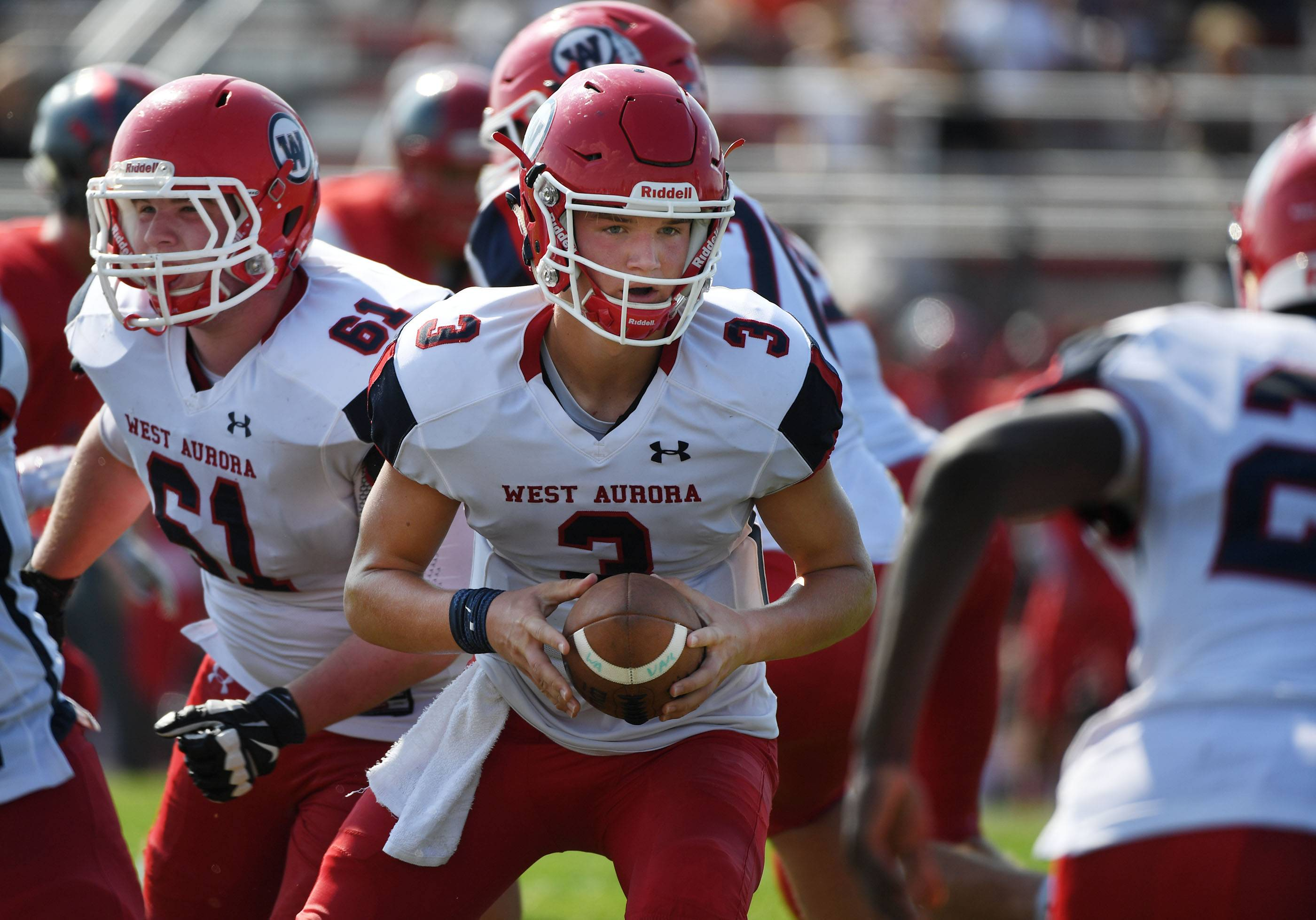West Aurora quarterback William Tammaru returns for his senior season in 2018.