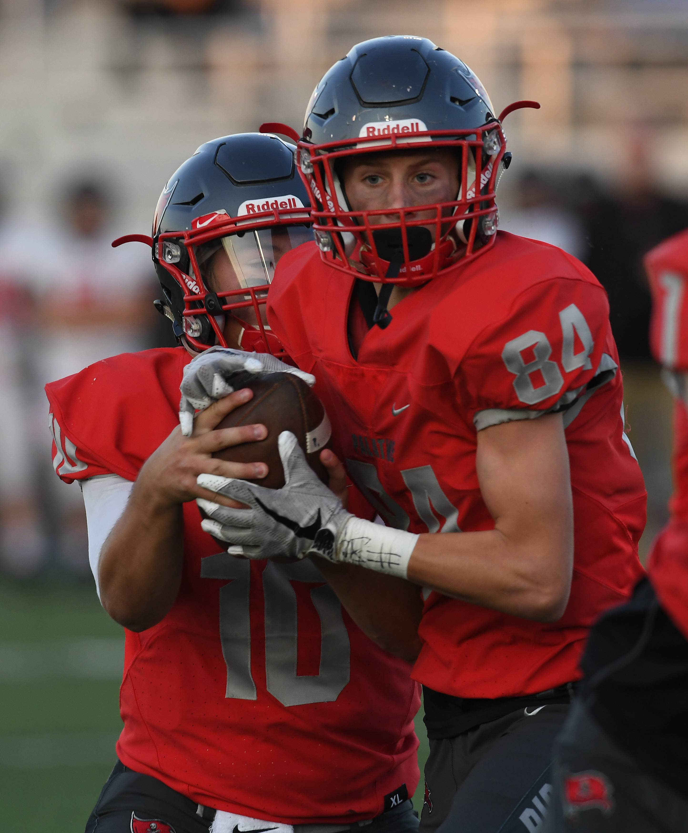 Jake Gronwick is among the few returning starters at Palatine, but an abundance of depth has the Pirates hoping for another powerful season.