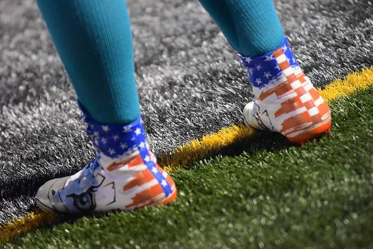 The Wauconda football team is wearing teal socks this season to bring attention to Suicide Prevention Awareness Month.