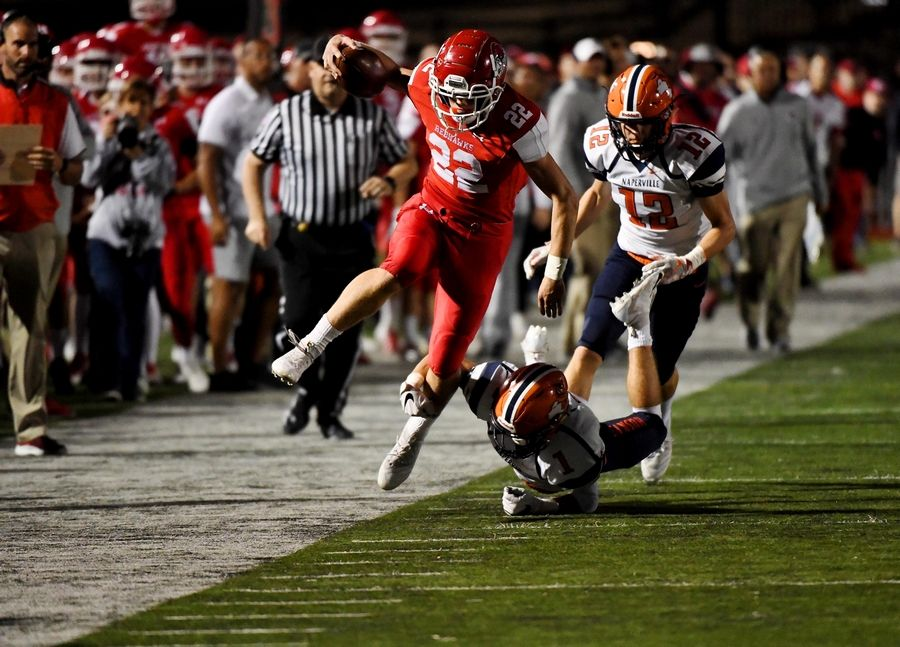 Photos from the Naperville North vs. Naperville Central football game on Friday, Sept. 7, in Naperville.