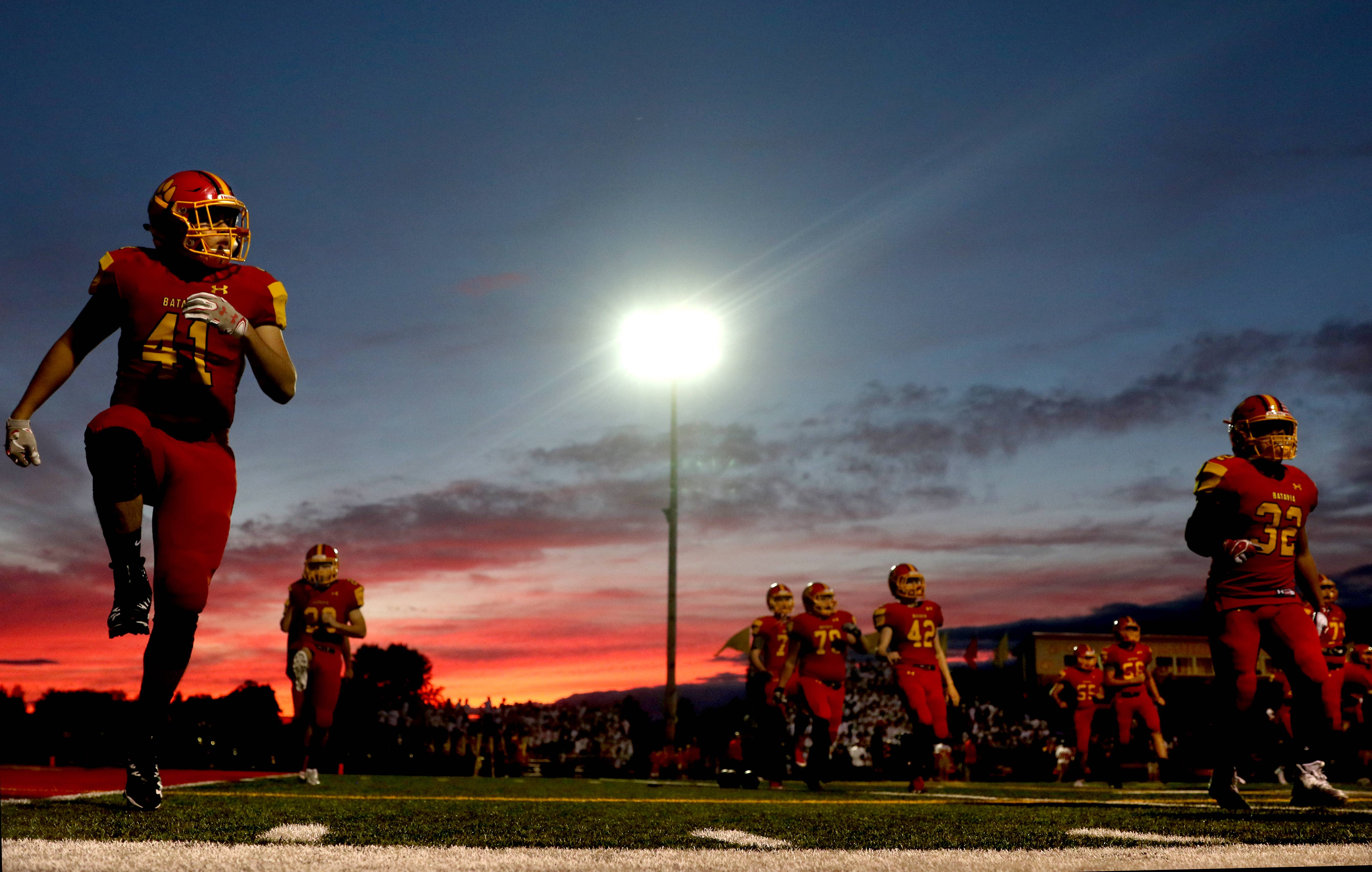 Images: Batavia over Wheaton Warrenville South, 41-20 in Week 5 football
