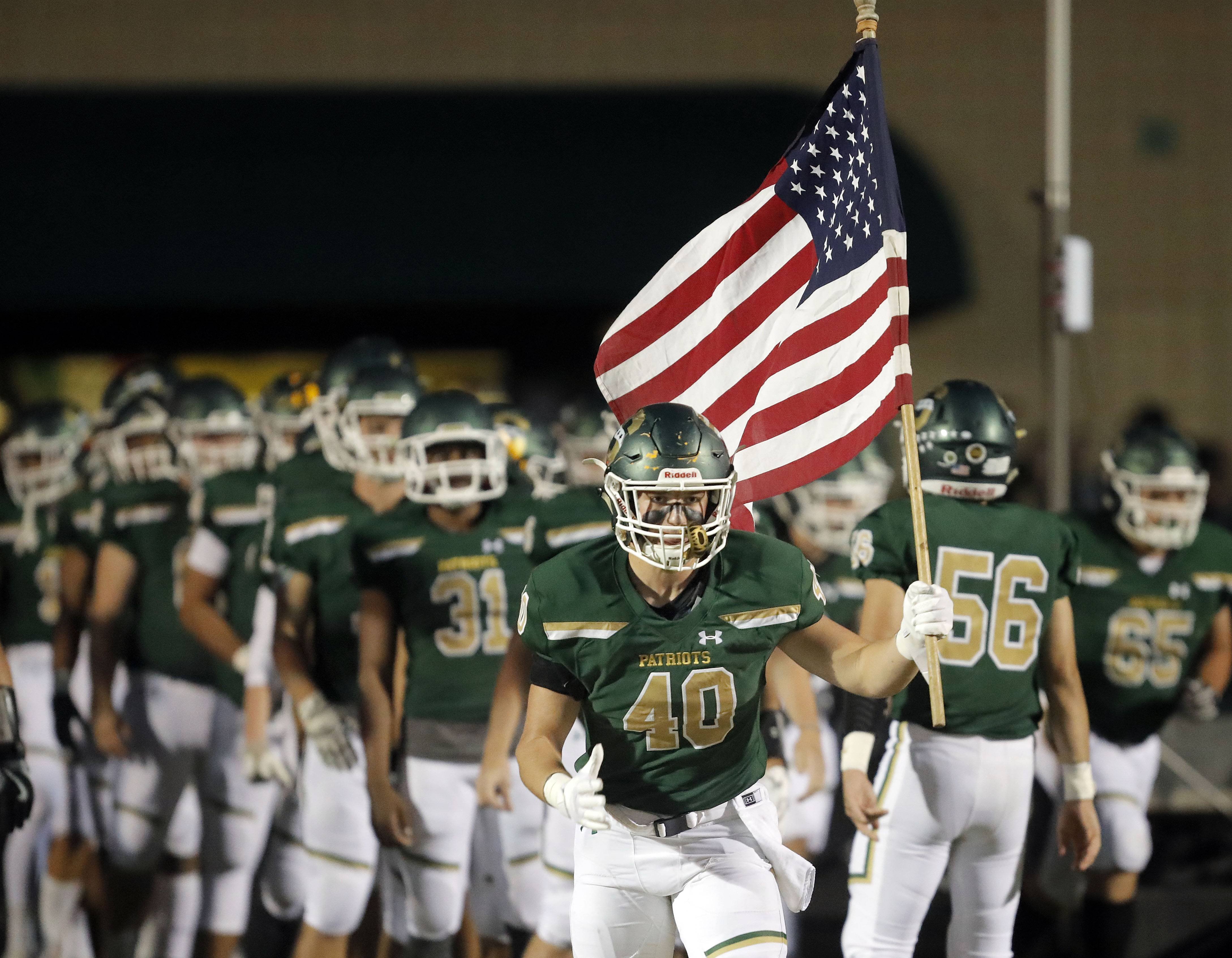Images: Stevenson falls to Lake Zurich in OT, 23-20 in Week 5 football