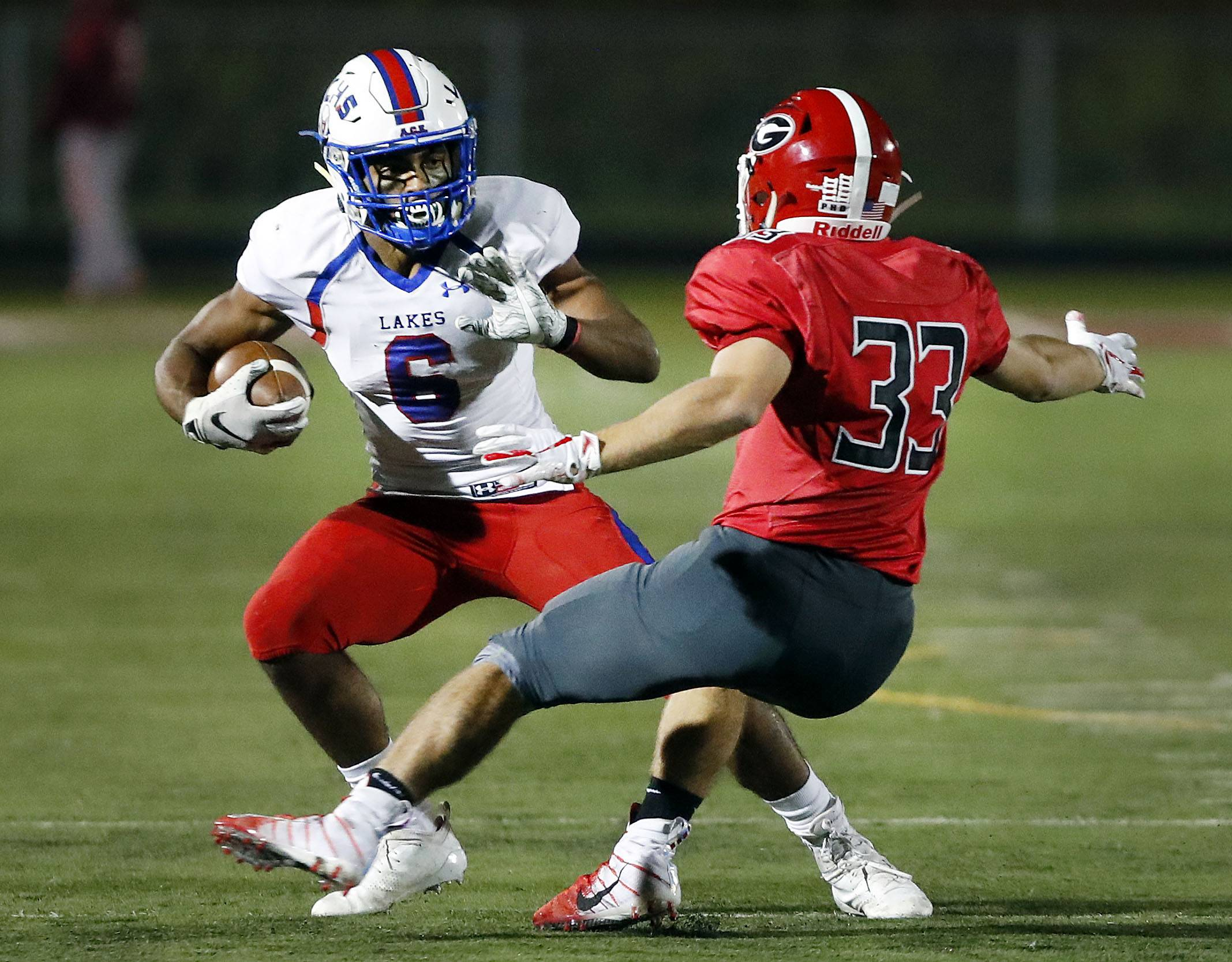 Images: Lakes over Grant, 42-19 in Week 6 football