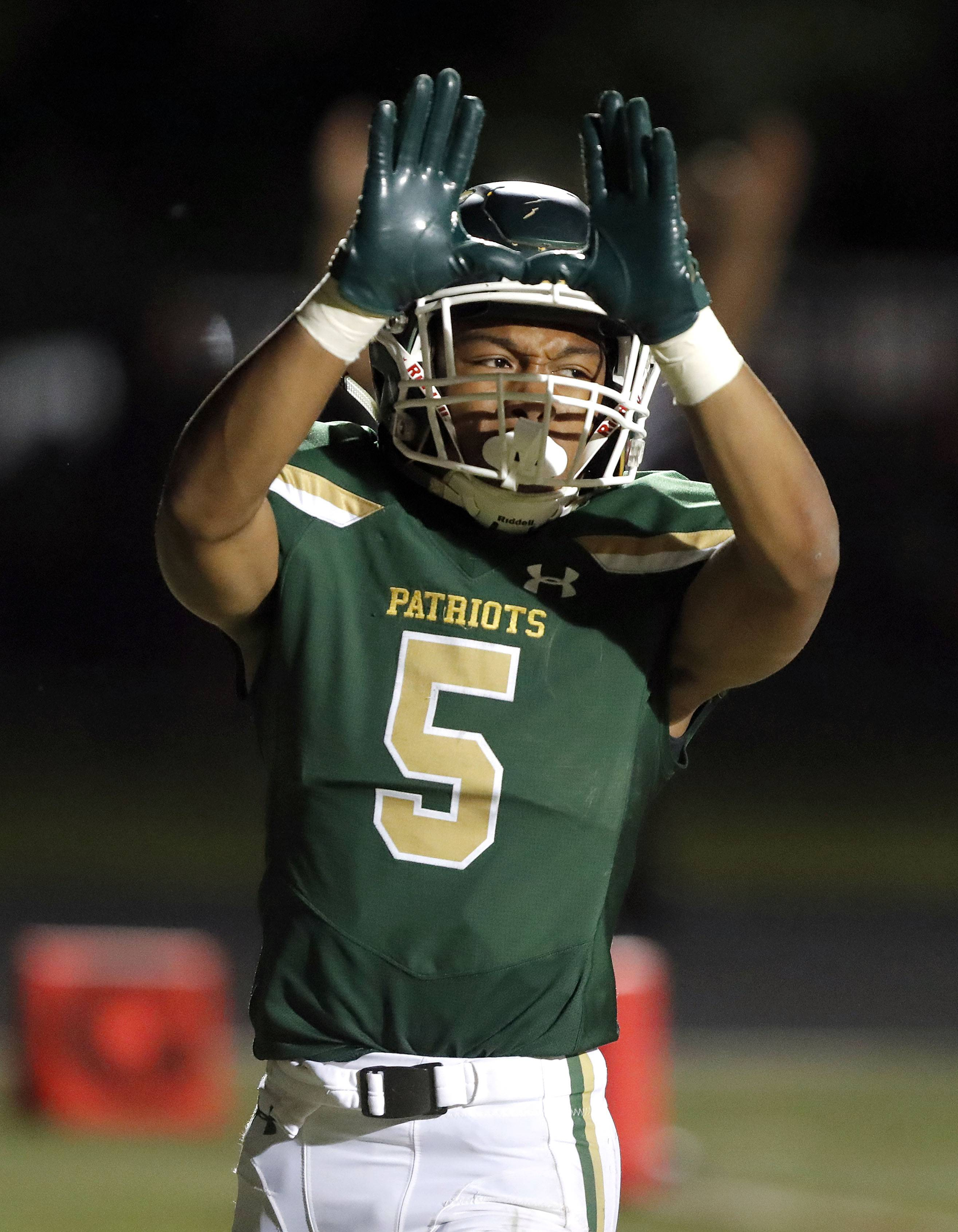 Stevenson and junior standout JeanMarc Etienne will travel to Marist Saturday night for a first round Class 8A playoff game.