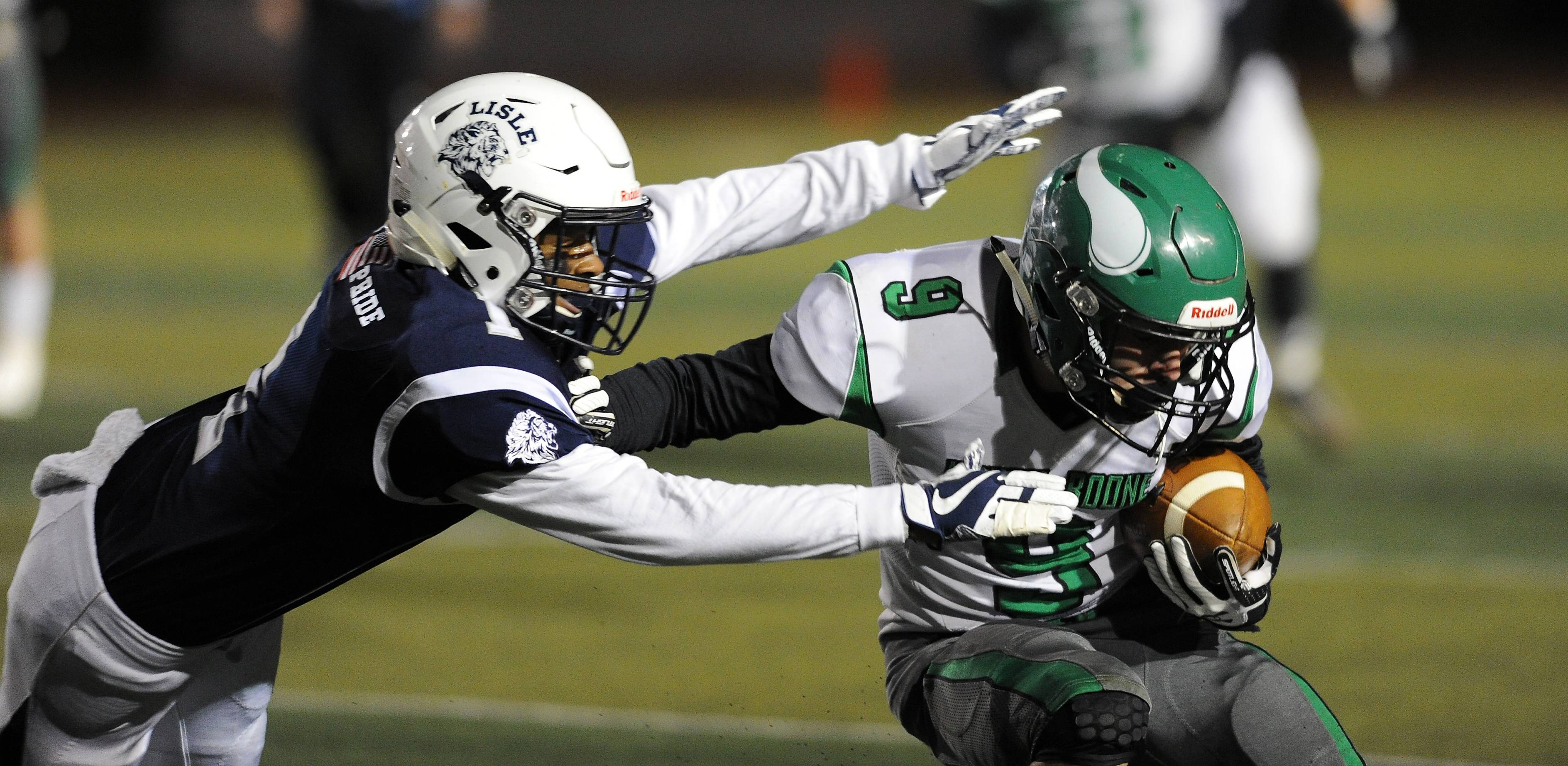 Images: Lisle vs. North Boone, Playoff Round 2 football