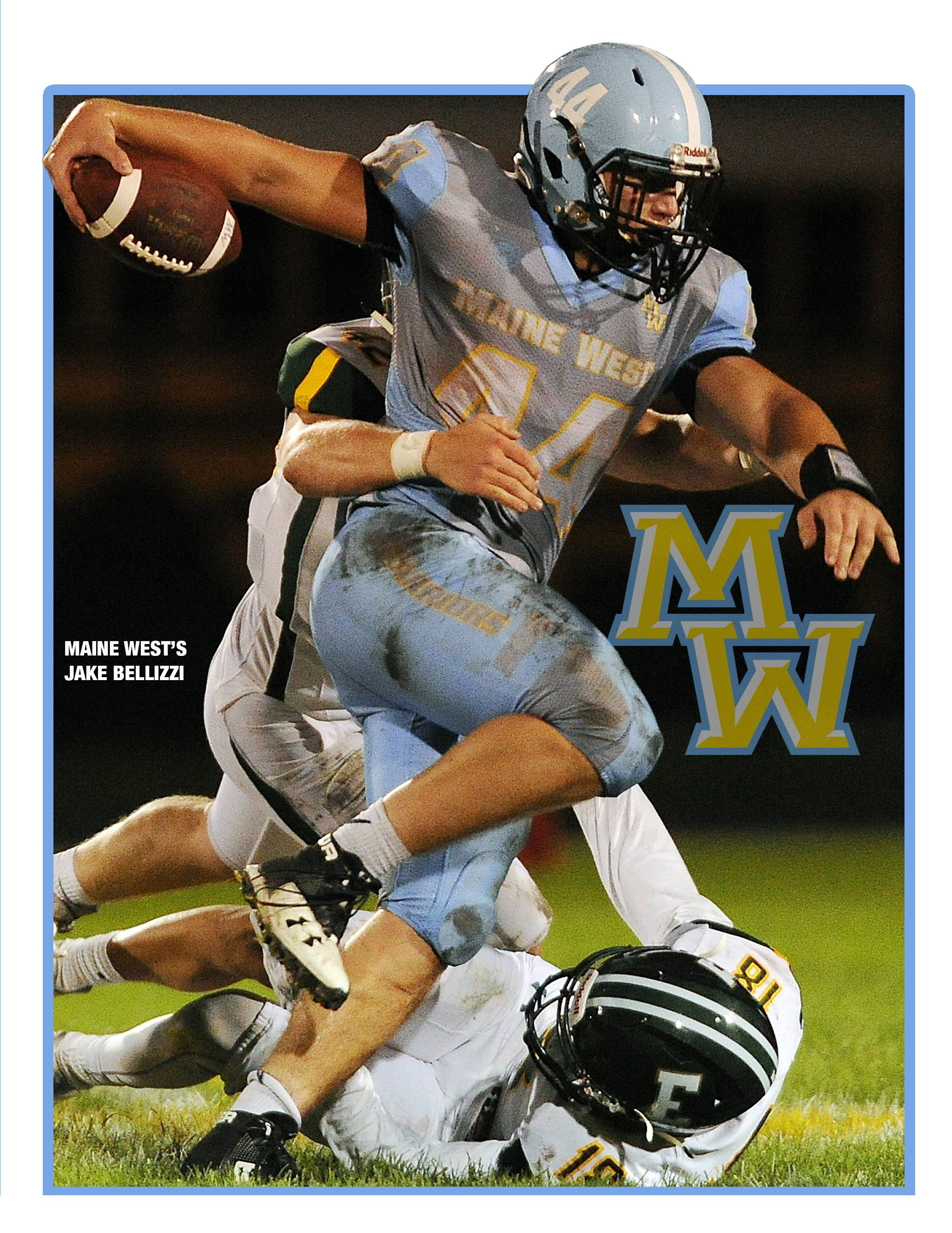 Jake Bellizzi of Maine West is a Daily Herald All-Area Team Captain.