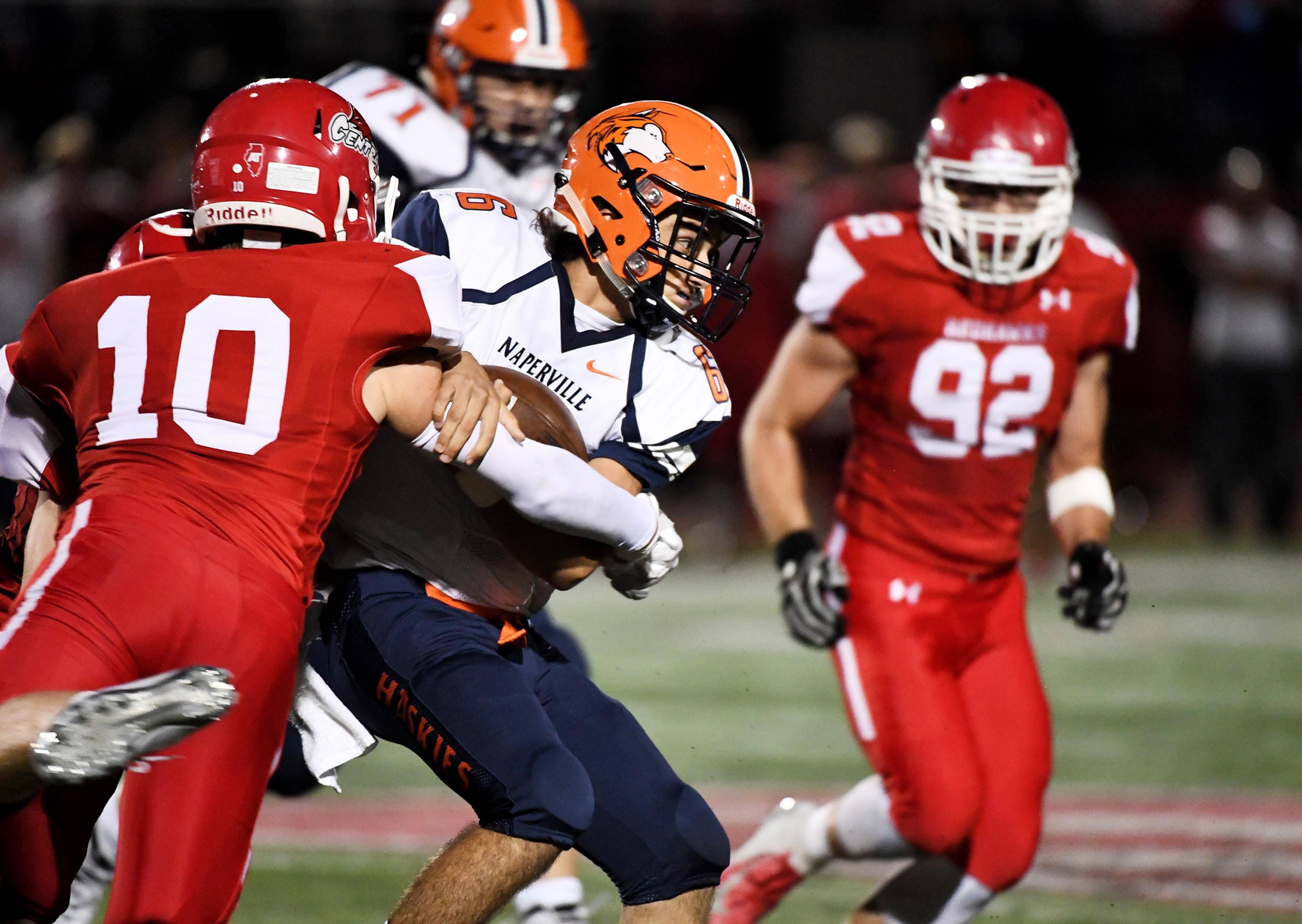 The vote to move to district play in football seems to benefit DuPage Valley Conference teams like Naperville North and Naperville Central.