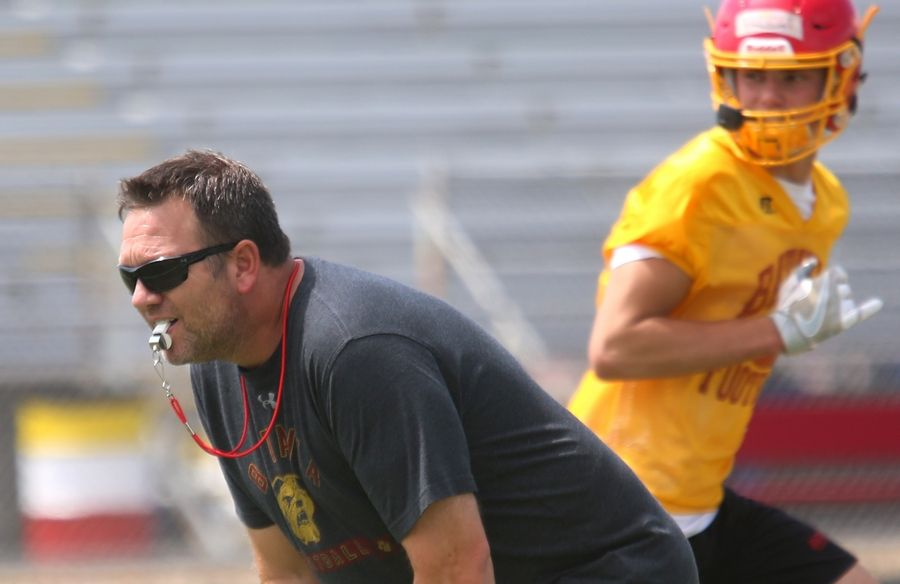 Batavia High School football coach Dennis Piron's Bulldogs won the championship of the new DuKane Conference in 2018. With the advent of Proposal 23, 2020 will be the DuKane's final year, as well as the final year of conference play statewide.
