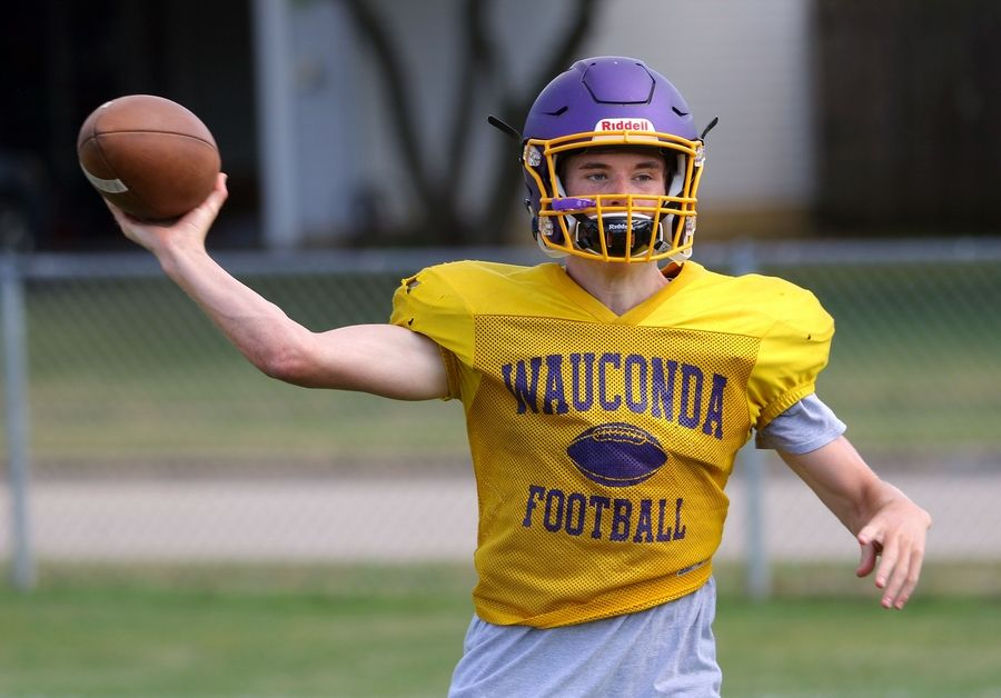 Nick Bulgarelli returns for Wauconda after quarterbacking the team to a state-playoff berth last season.