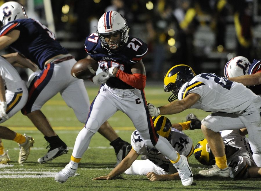 Conant's football game at Hoffman Estates tonight will kick off at 5 p.m. There have been several other changes to the Northwest suburbs' football schedule due to the inclement weather.