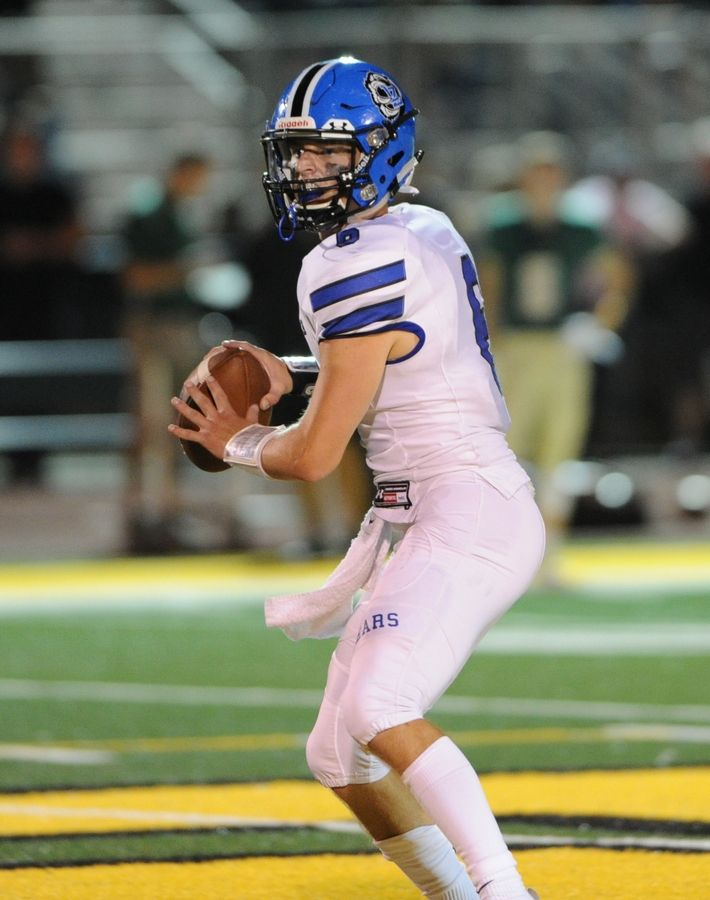 Lake Zurich quarterback Jack Moses leads his team into Friday night's North Suburban Conference showdown at home against Libertyville.