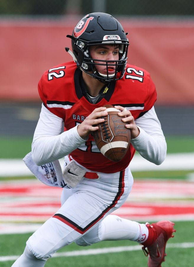 Barrington and quarterback Tommy FitzPatrick travel to Palatine Friday night for a Mid-Suburban West battle against Fremd.