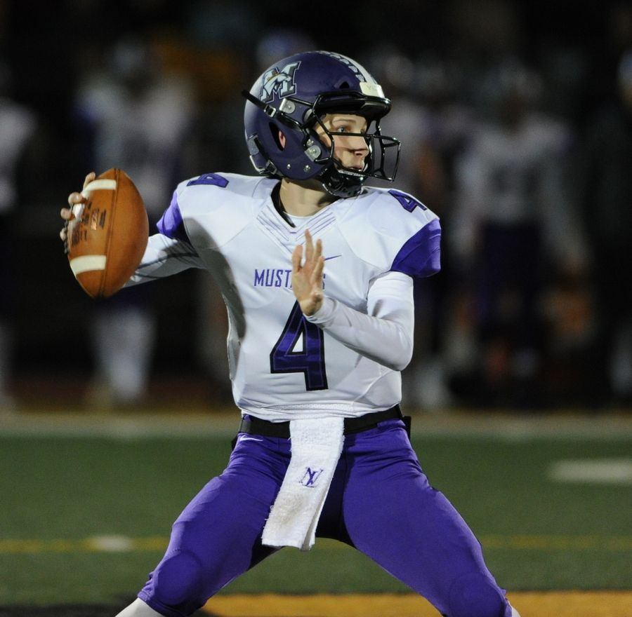 Rolling Meadows and quarterback Carson Schiller will host Lincoln Park in the first round of the Class 7A playoffs.