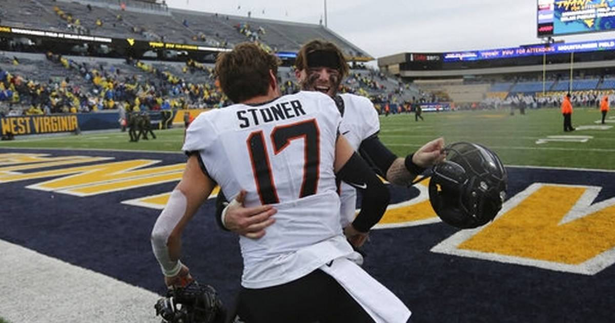 Brown, Hubbard lead No. 22 Oklahoma State over WVU 20-13