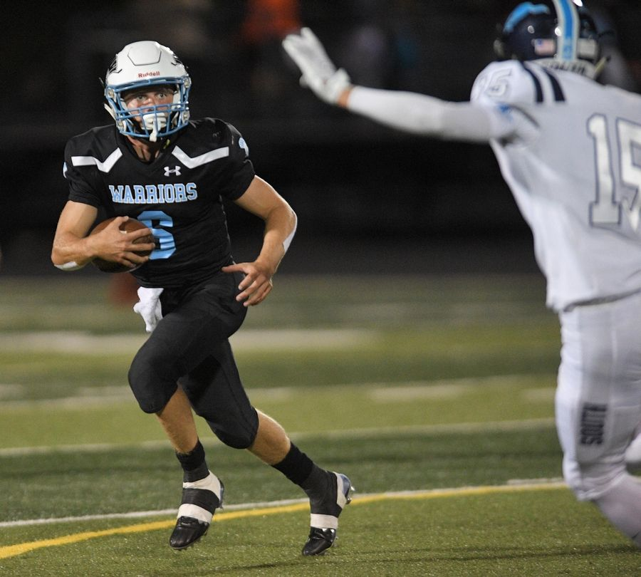 Willowbrook's Sam Tumilty is the 2019 Daily Herald Red Grange DuPage County All-Area Football Team Captain.