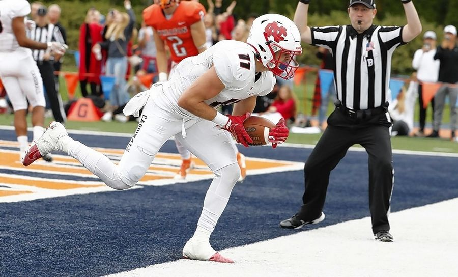 South Elgin graduate Andrew Kamienski has been a key contributor for the North Central College football team, which will play Wisconsin-Whitewater on Friday for the NCAA Division III national championship.