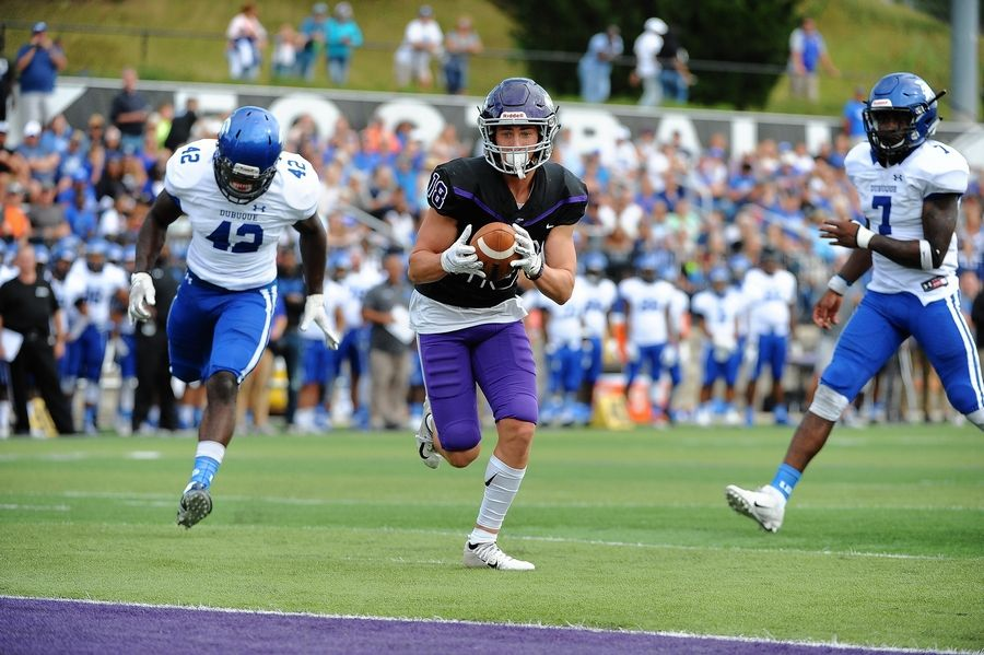 St. Edward graduate Tyler Holte has been a key contributor for the Wisconsin-Whitewater football team, which will play North Central College on Friday in the NCAA Division III National Championship game.